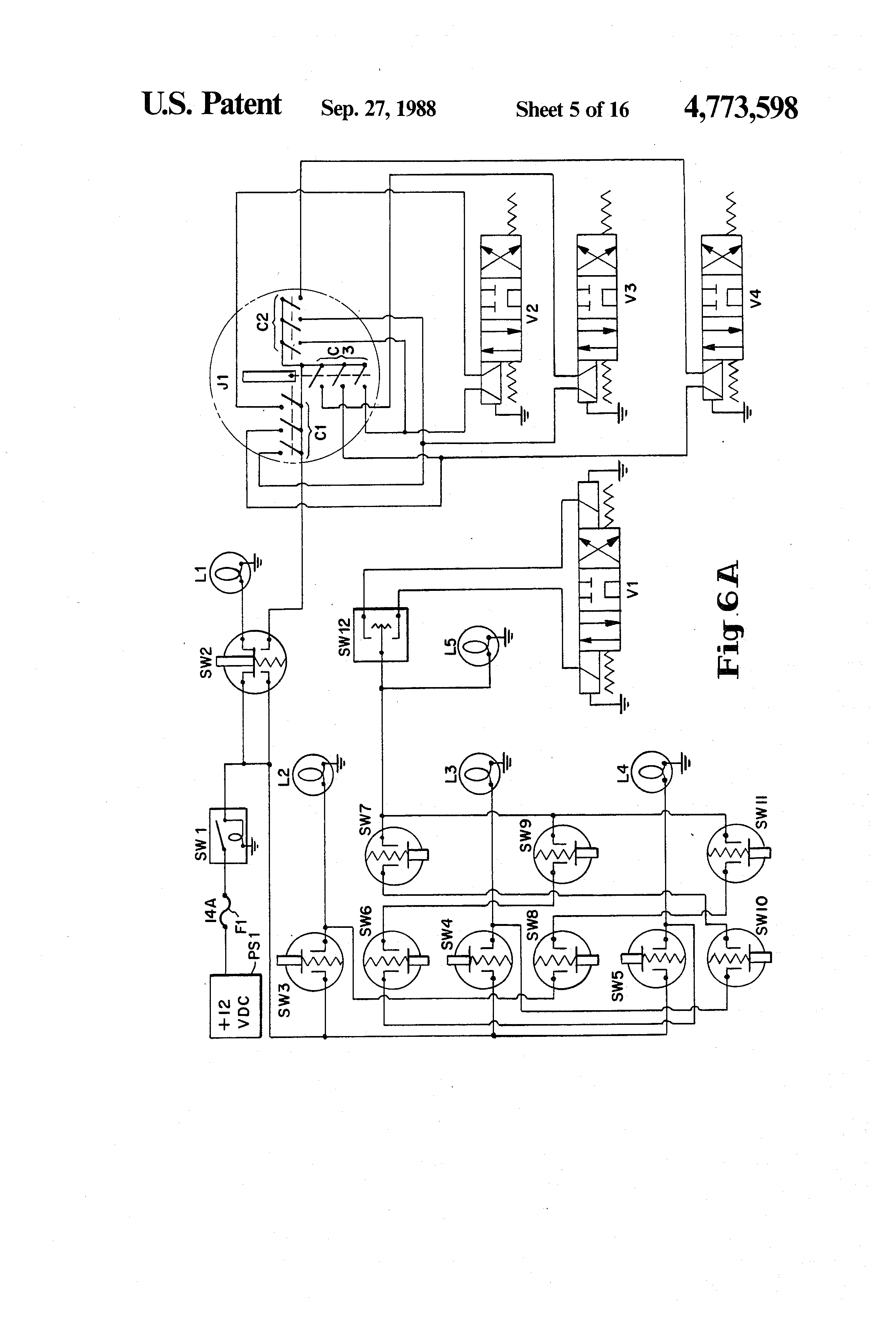 US4773598 5 patent us4773598 multi direction dump body for trucks google Snow Plow E60 Wiring-Diagram at bayanpartner.co
