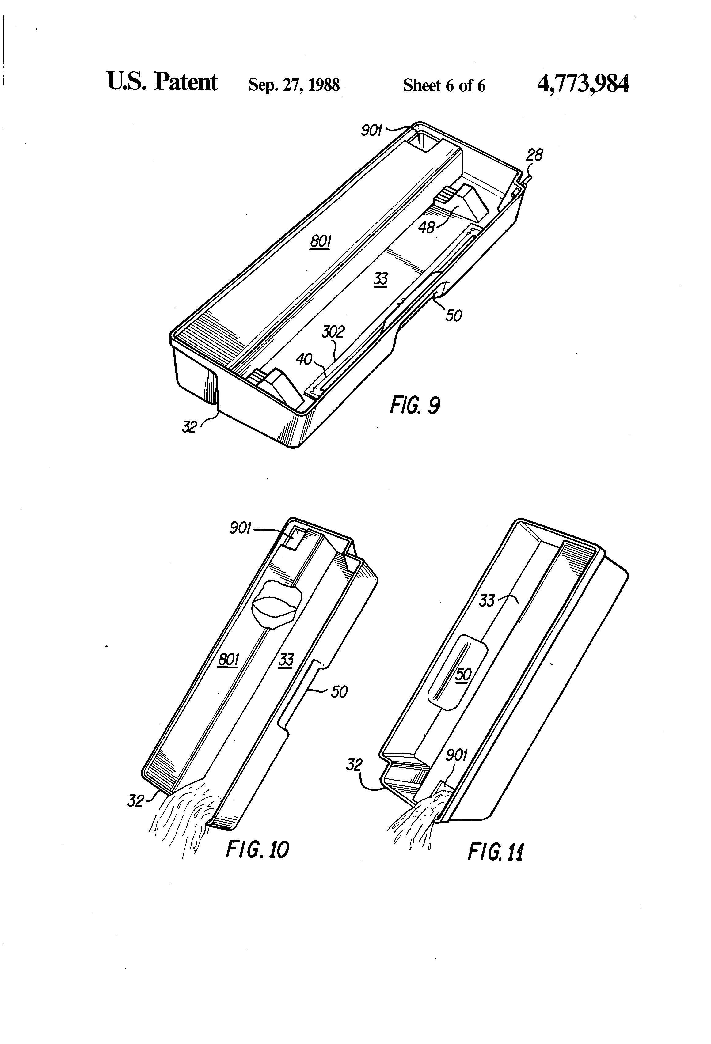 patent us4773984 - vertical gel slab electrophoresis apparatus