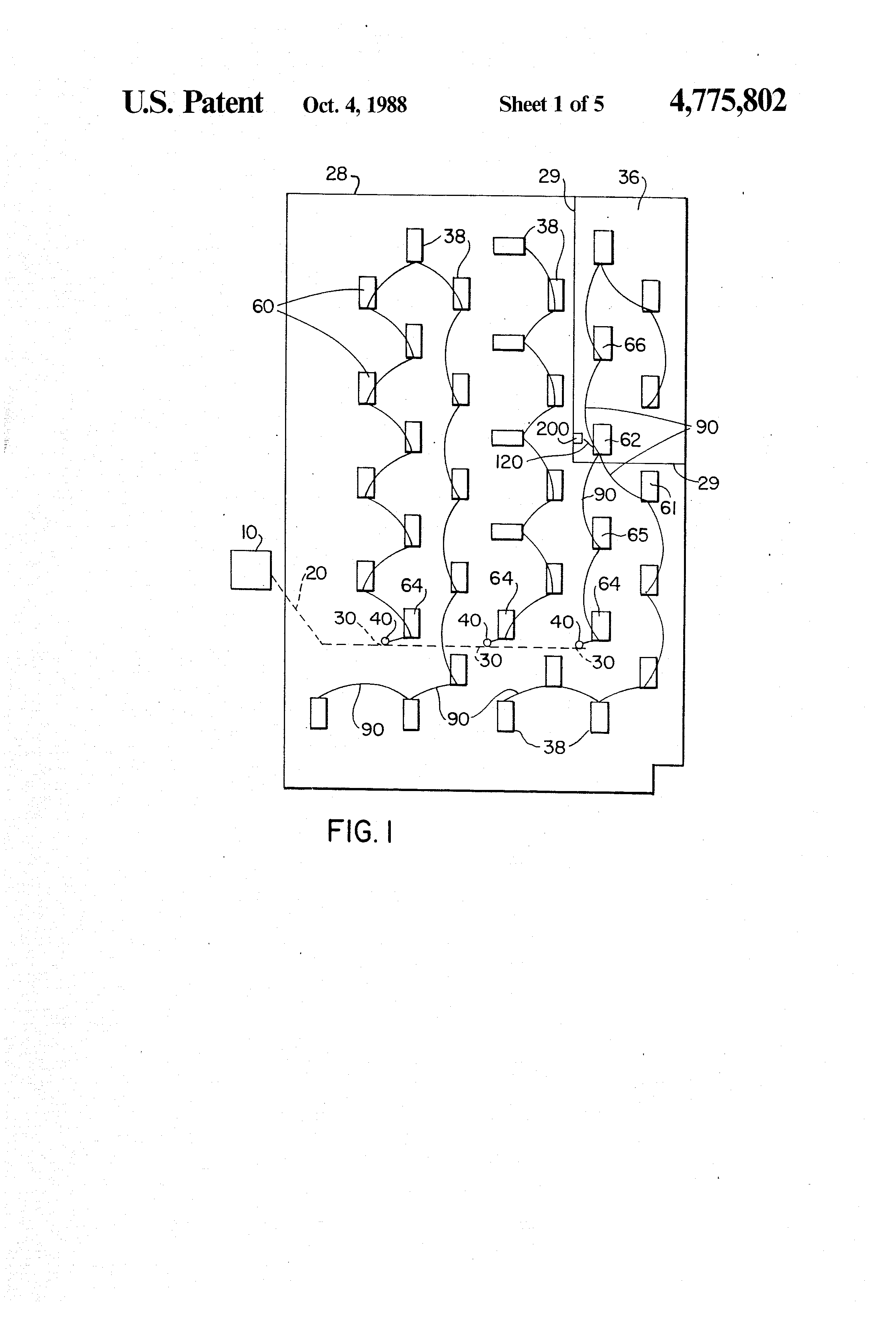 Patent Us4775802 Modular Interconnecting Wiring System With Molded What Is A Drawing