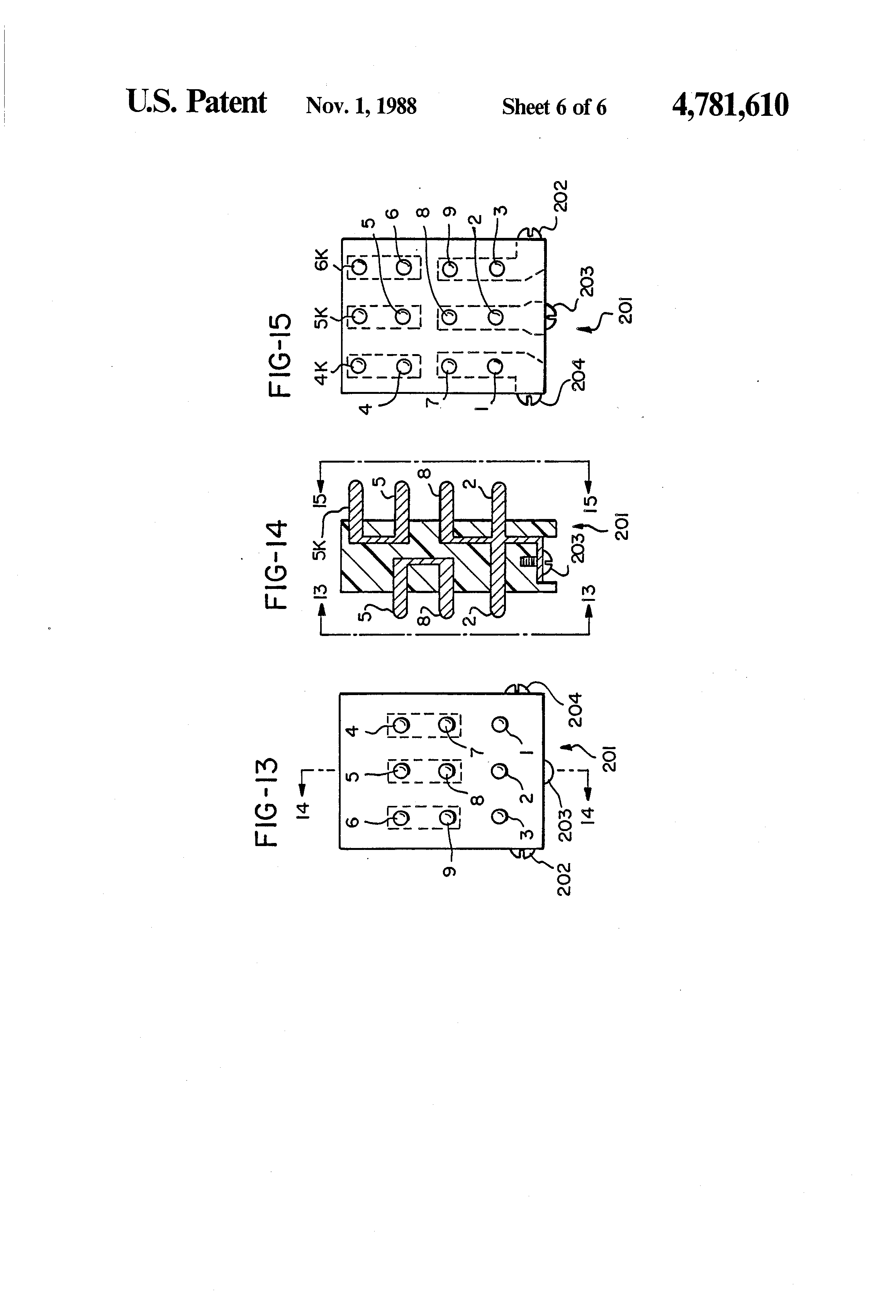US4781610 6 patent us4781610 voltage selector for a three phase electrical sew eurodrive wiring diagram at eliteediting.co