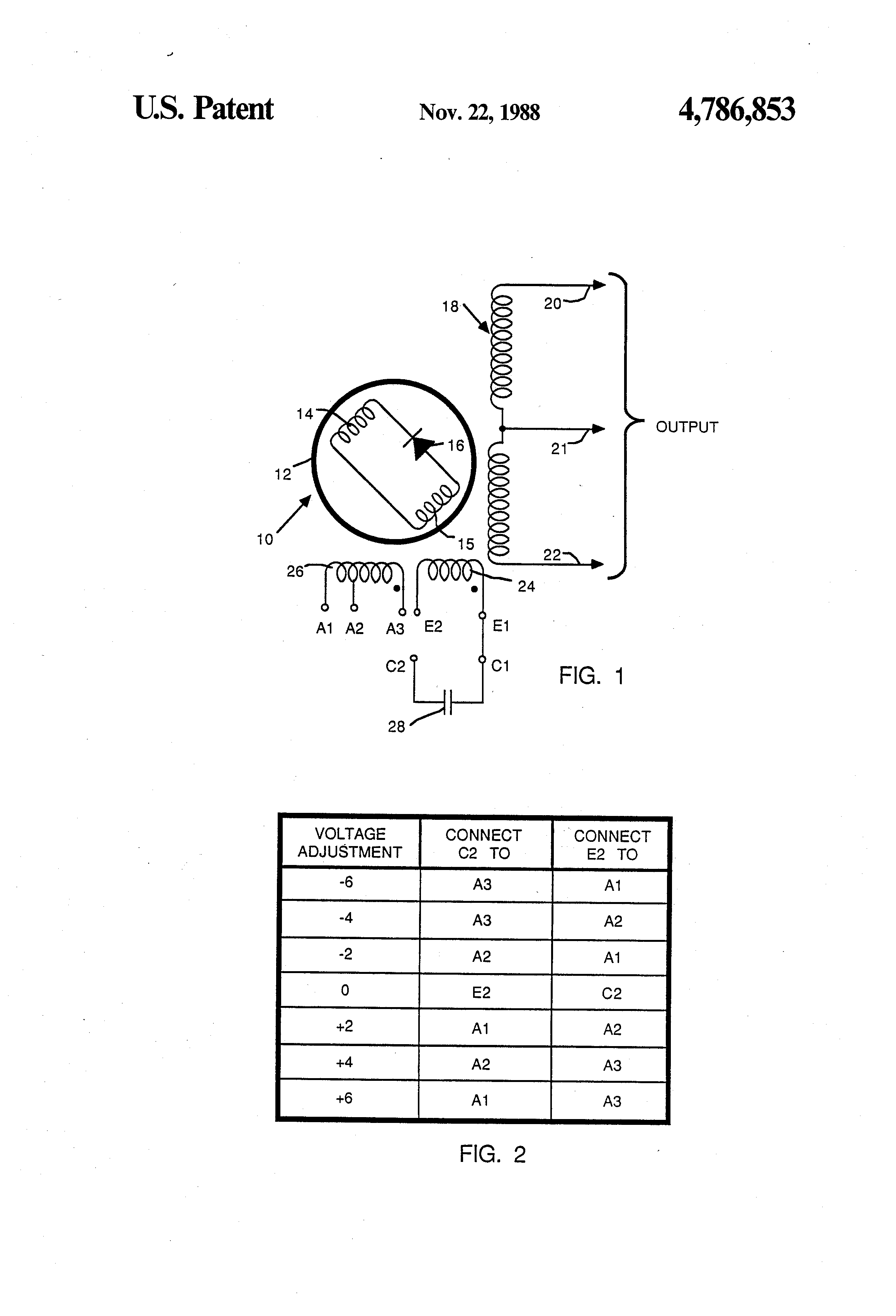 US4786853 1 patent us4786853 brushless capacitor excited generator google generator exciter diagram at n-0.co