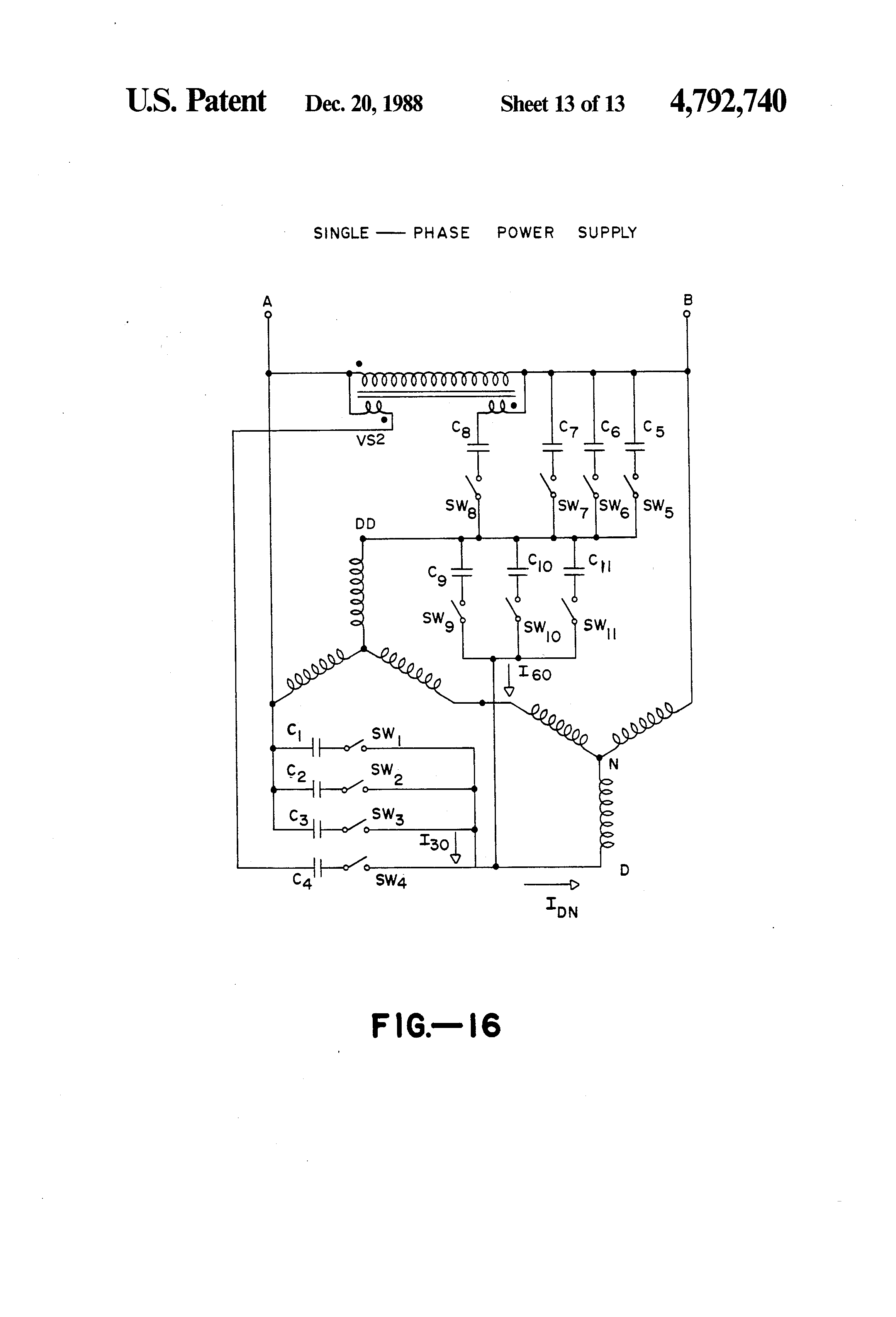 patent us three phase induction motor single phase patent drawing