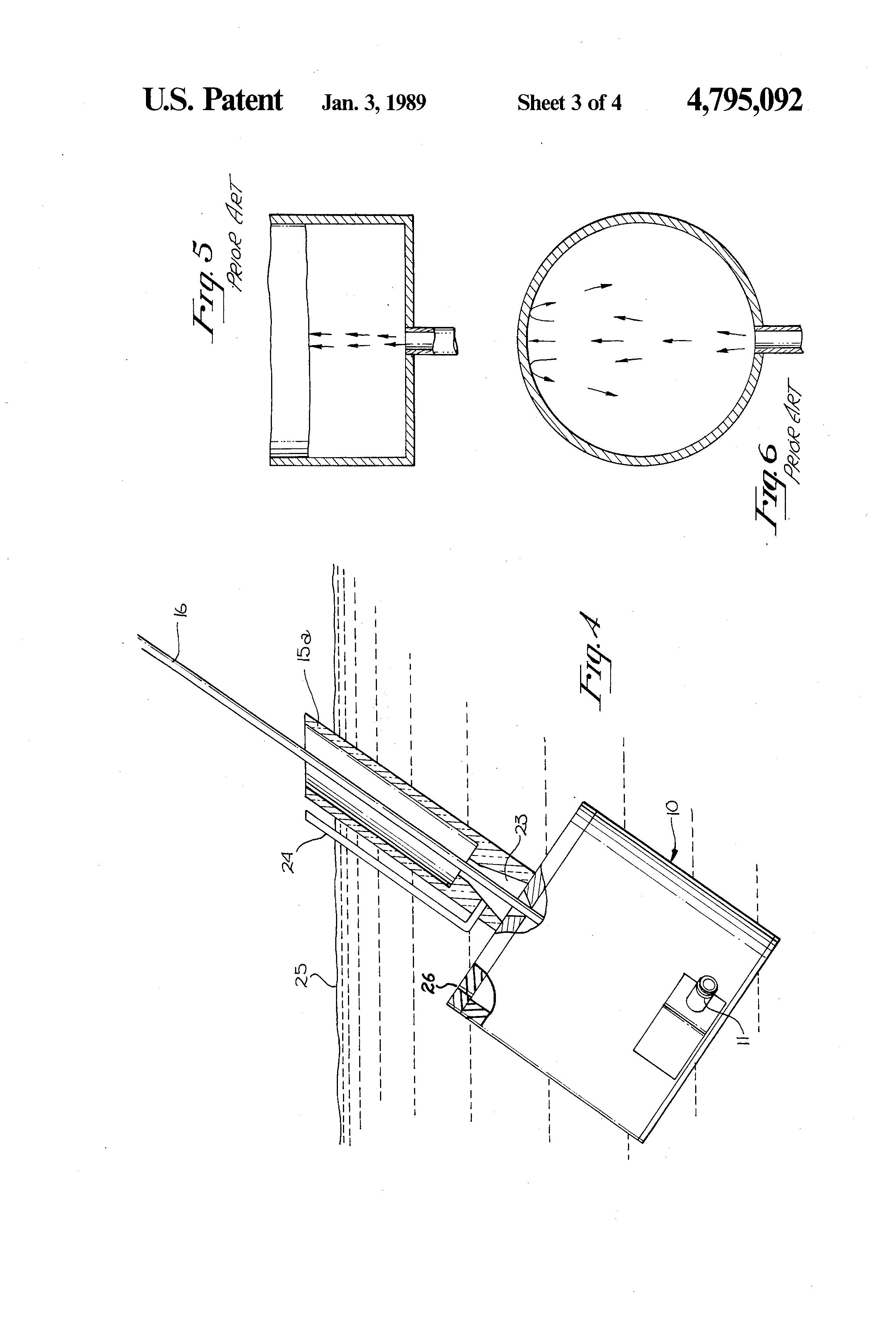 patent us4795092 - laminar flow nozzle