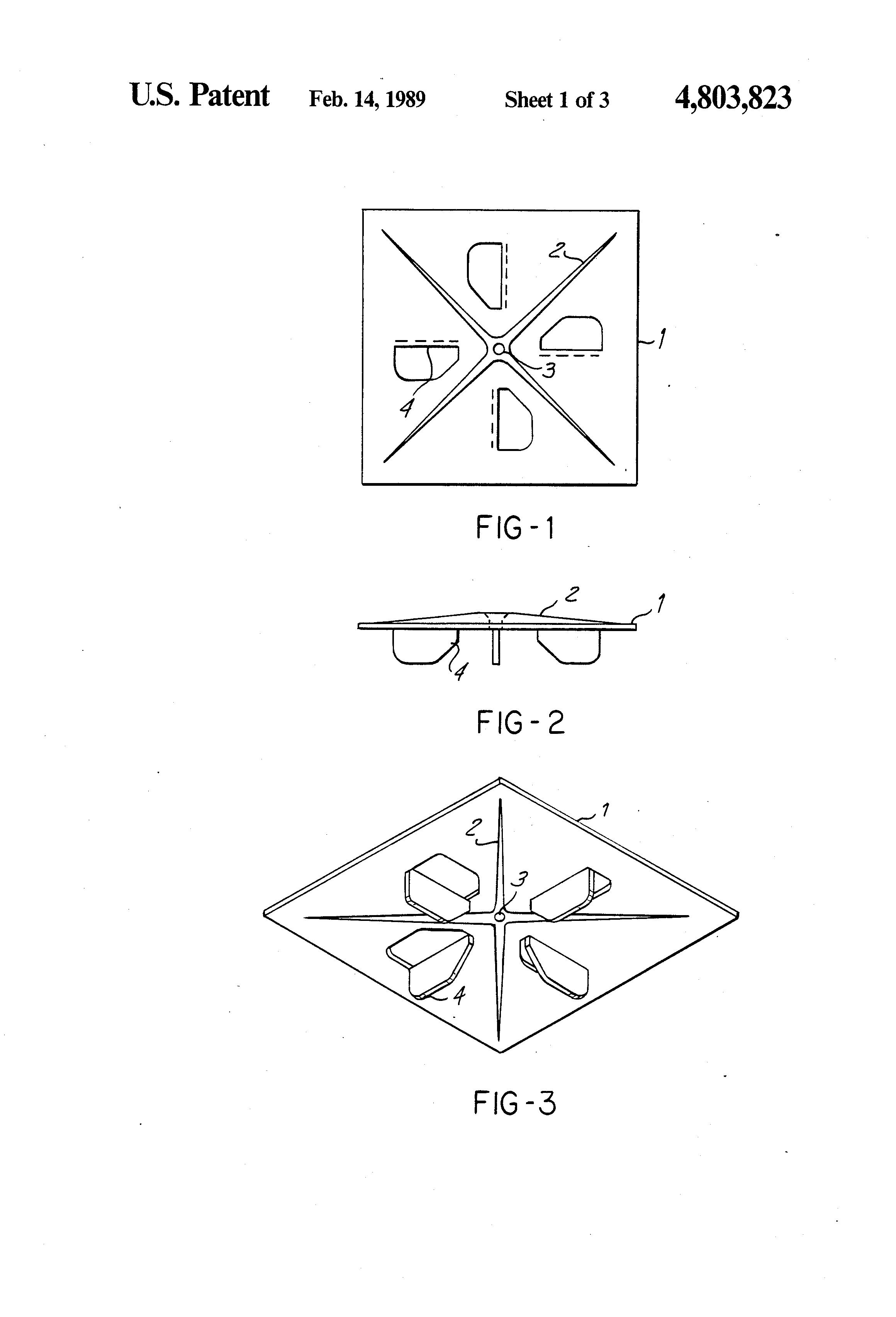 Patent Us4803823 Rigid Insulation Corner Fastener
