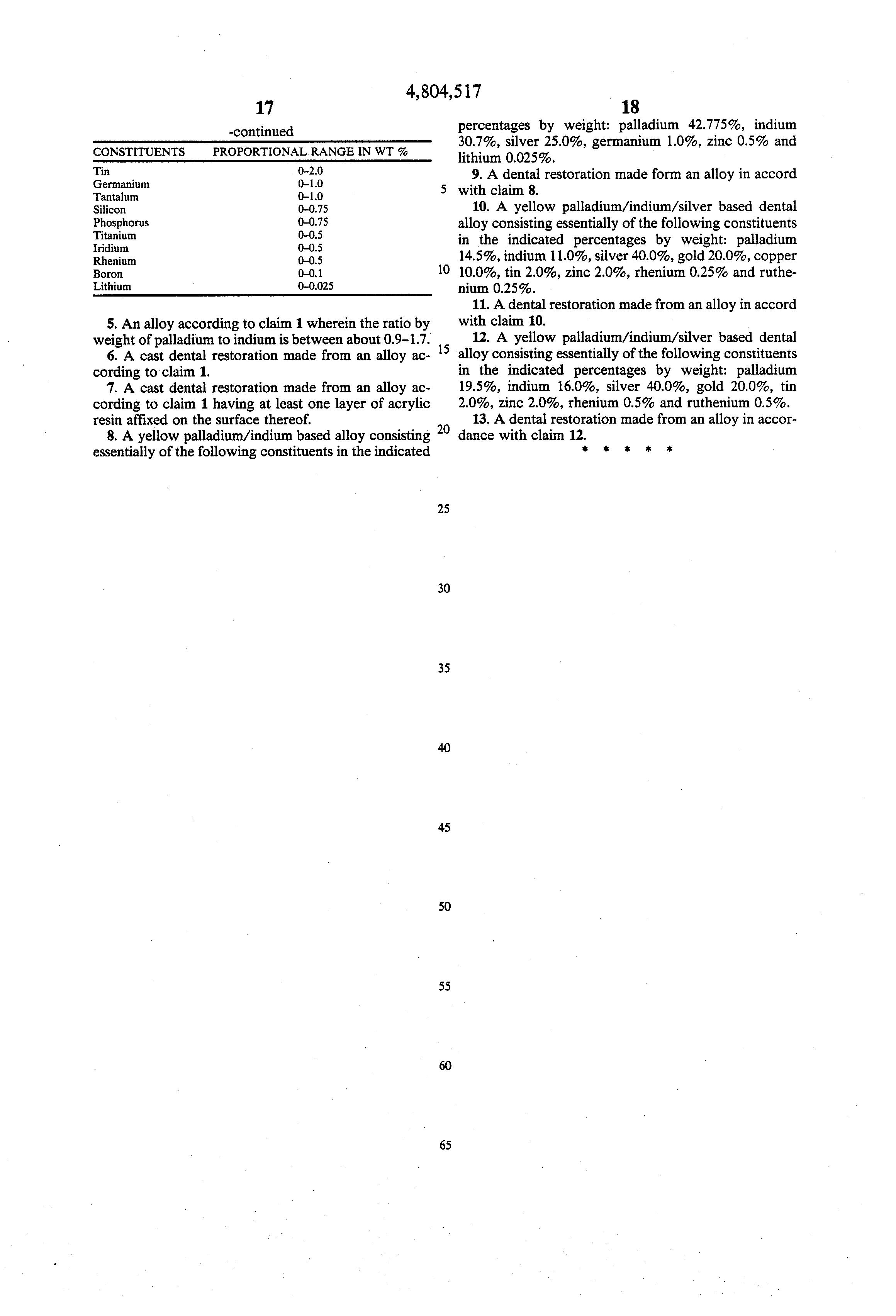 Iridium Wedding Band 85 Great Patent Drawing