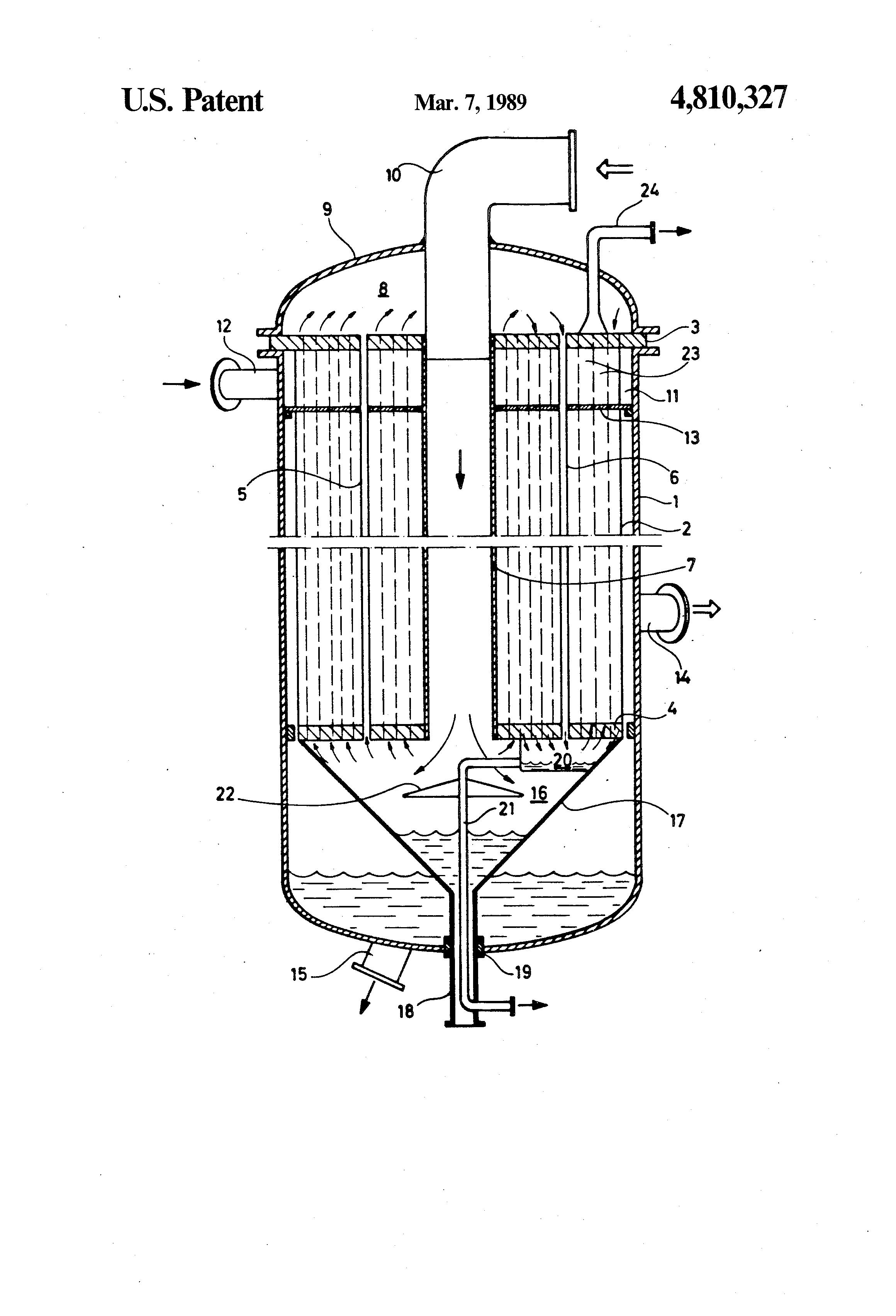 diagram of a heat exchanger