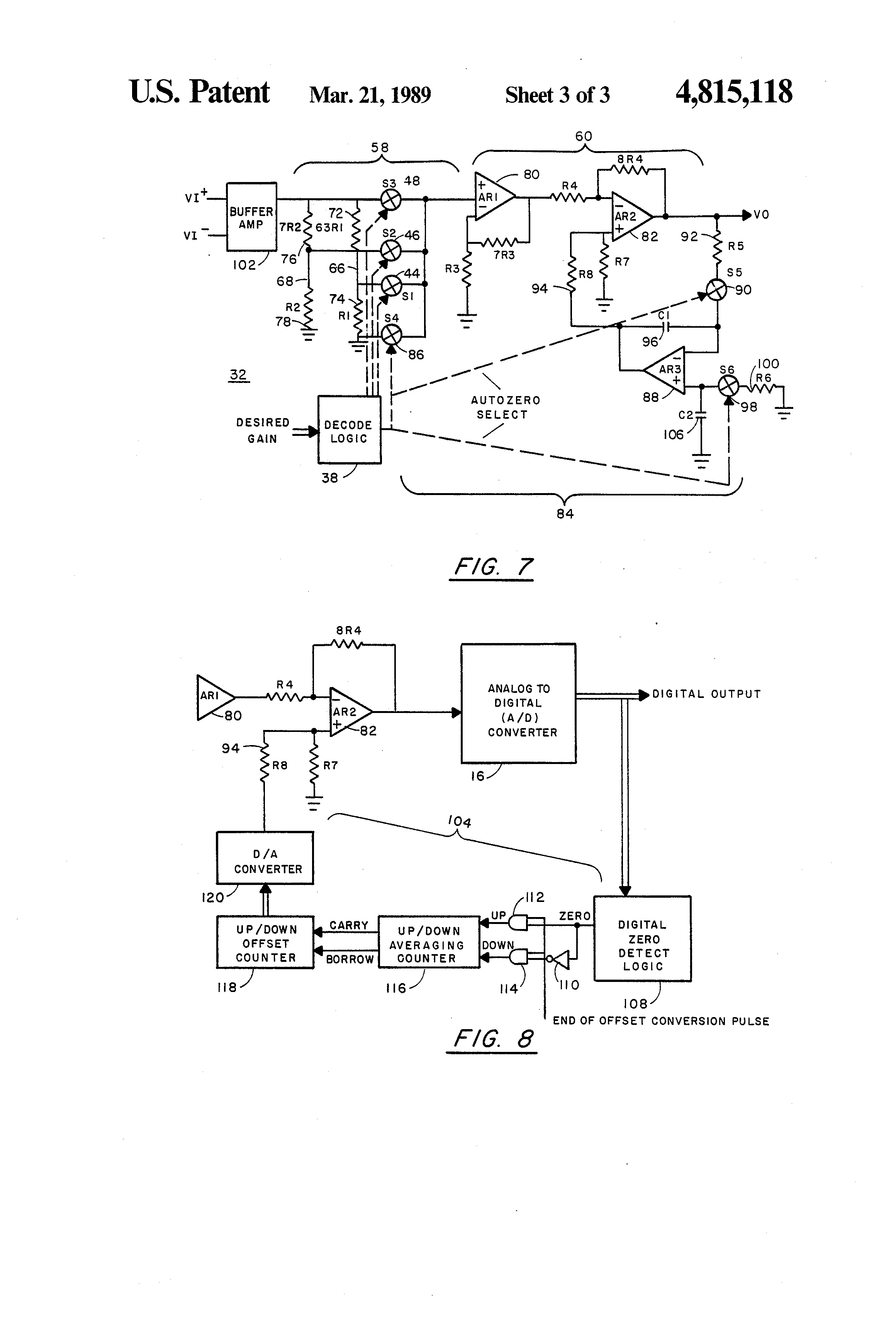 Ct Data Acquisition System : Patent us data converter for ct acquisition