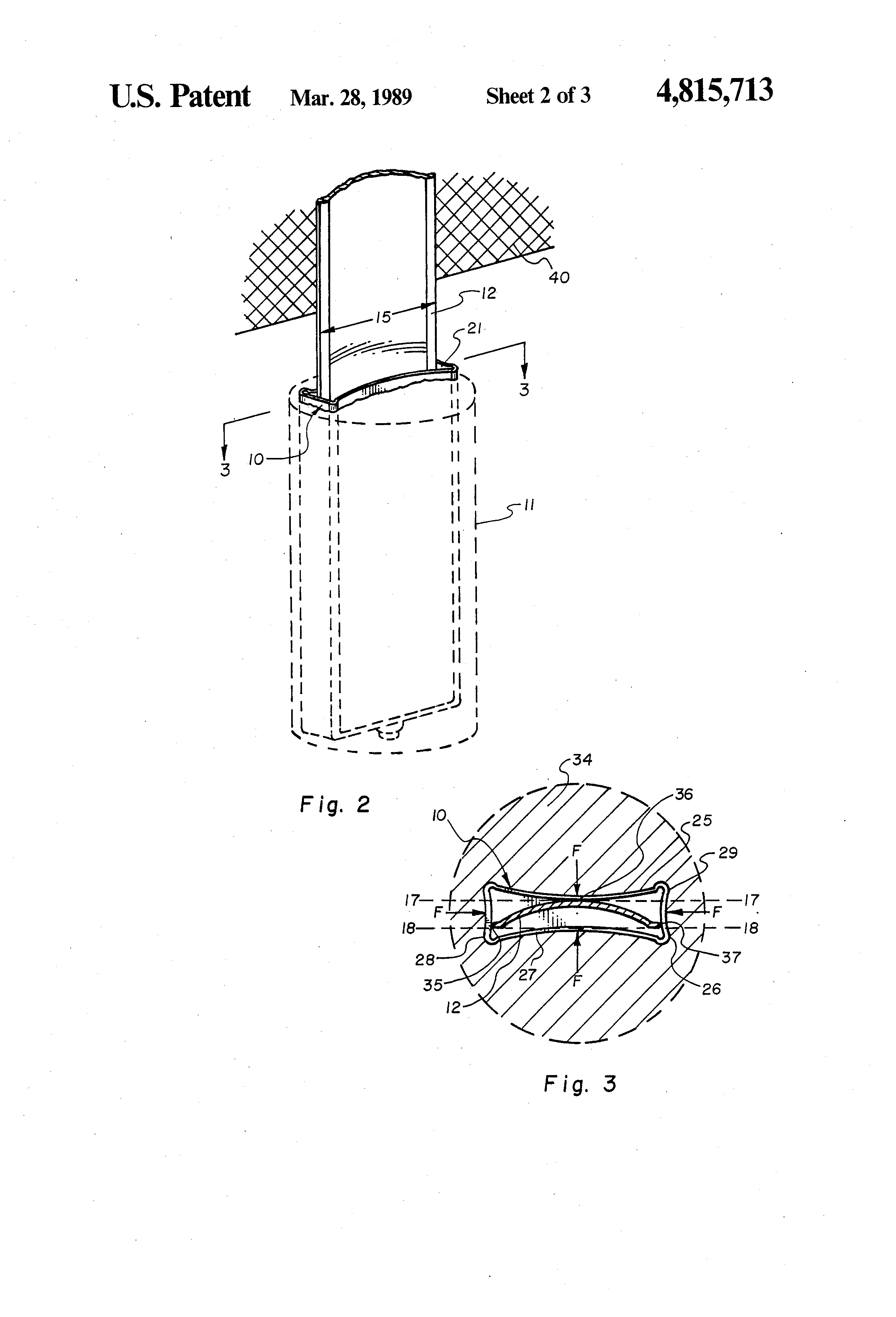 Removable Fence Post patent us4815713 - ground sleeve mount for supporting removable