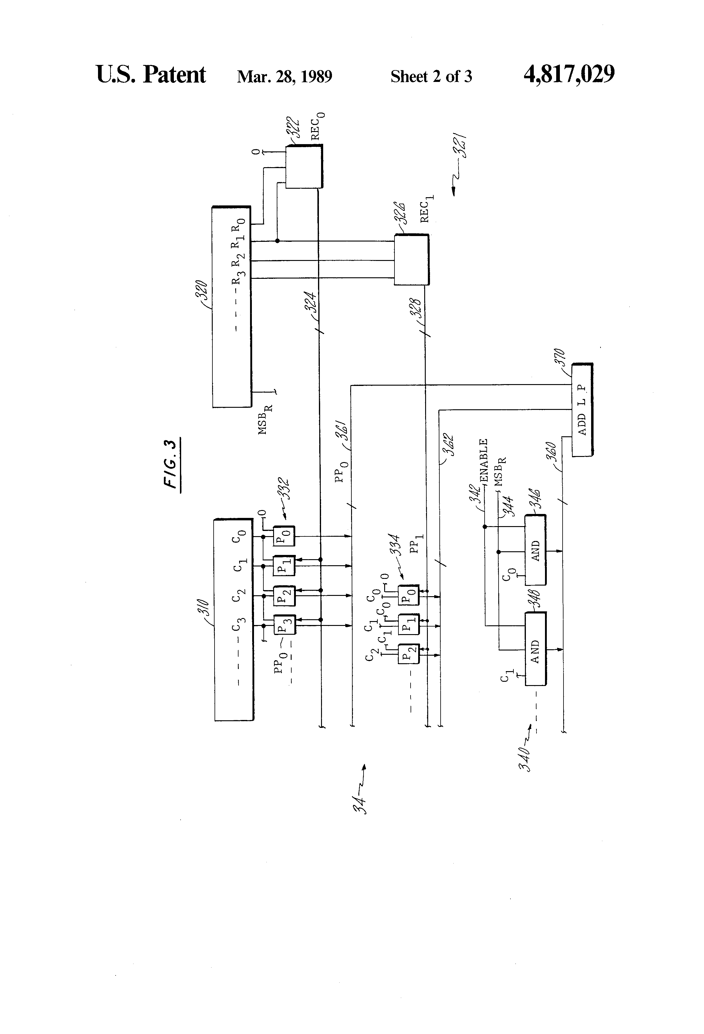 patent us4817029 - multiple-precision booth u0026 39 s recode multiplier