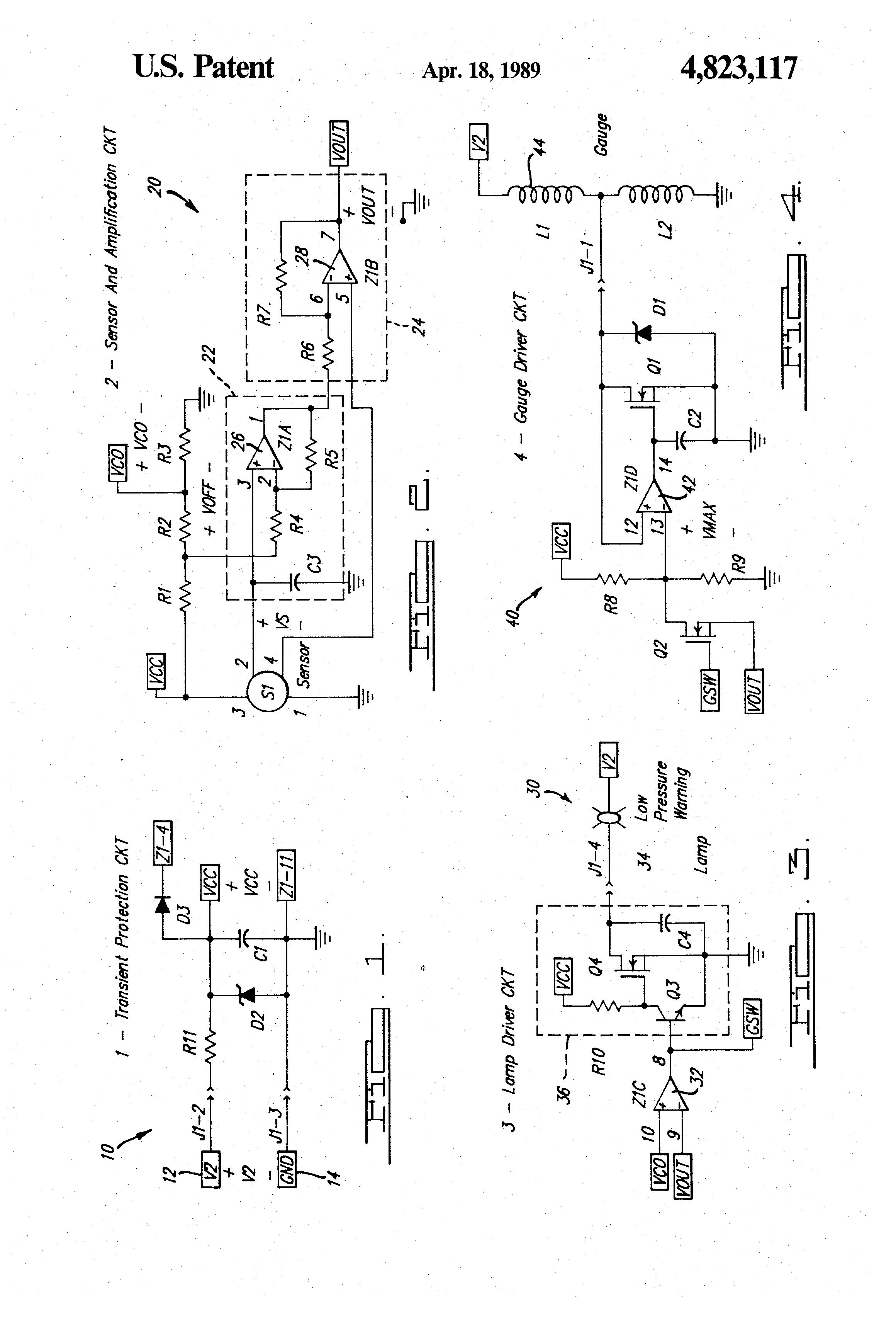 patent us4823117