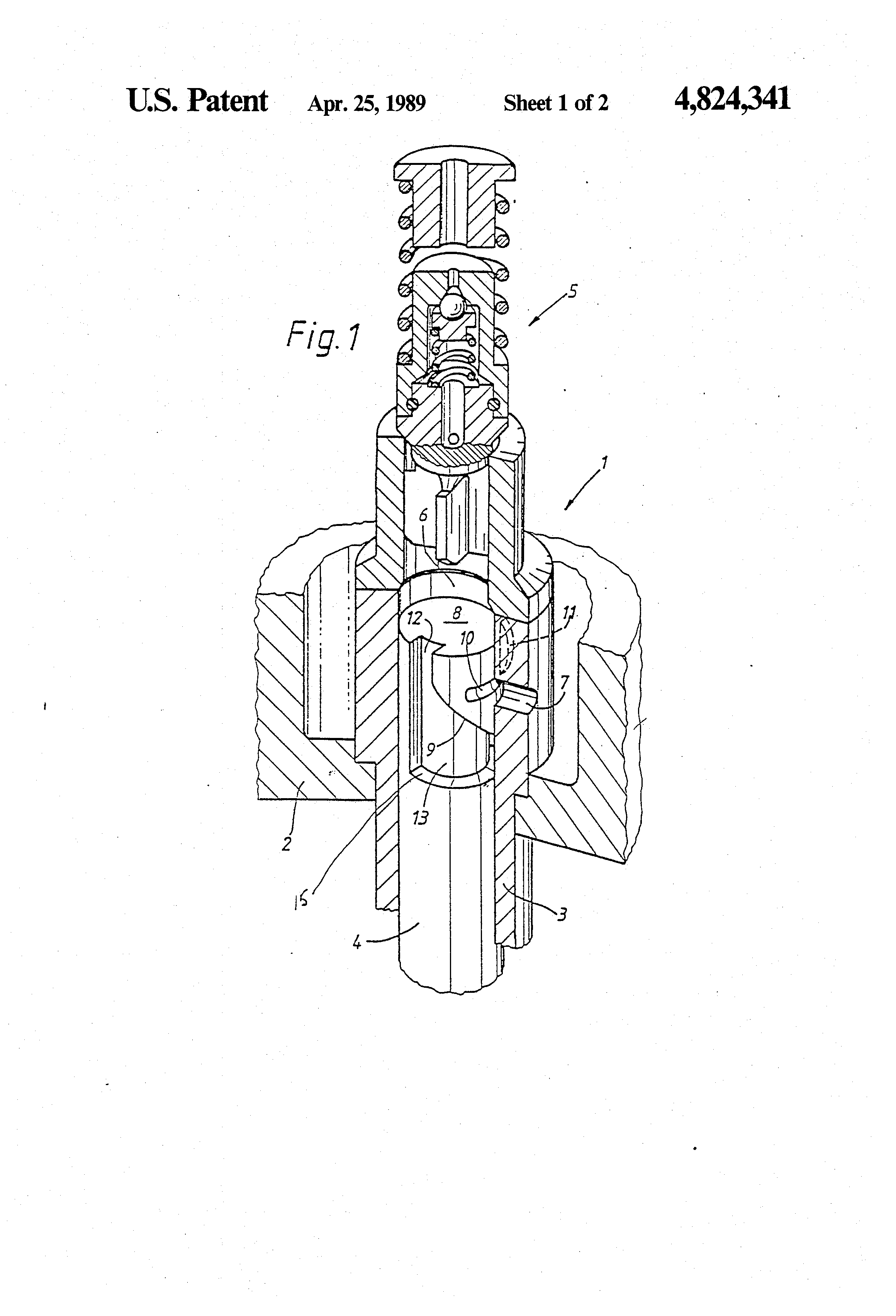 Patent Us4824341 Helix Controlled Direct Fuel Injection Pump Cav Diagram More Famous Lucas Drawing