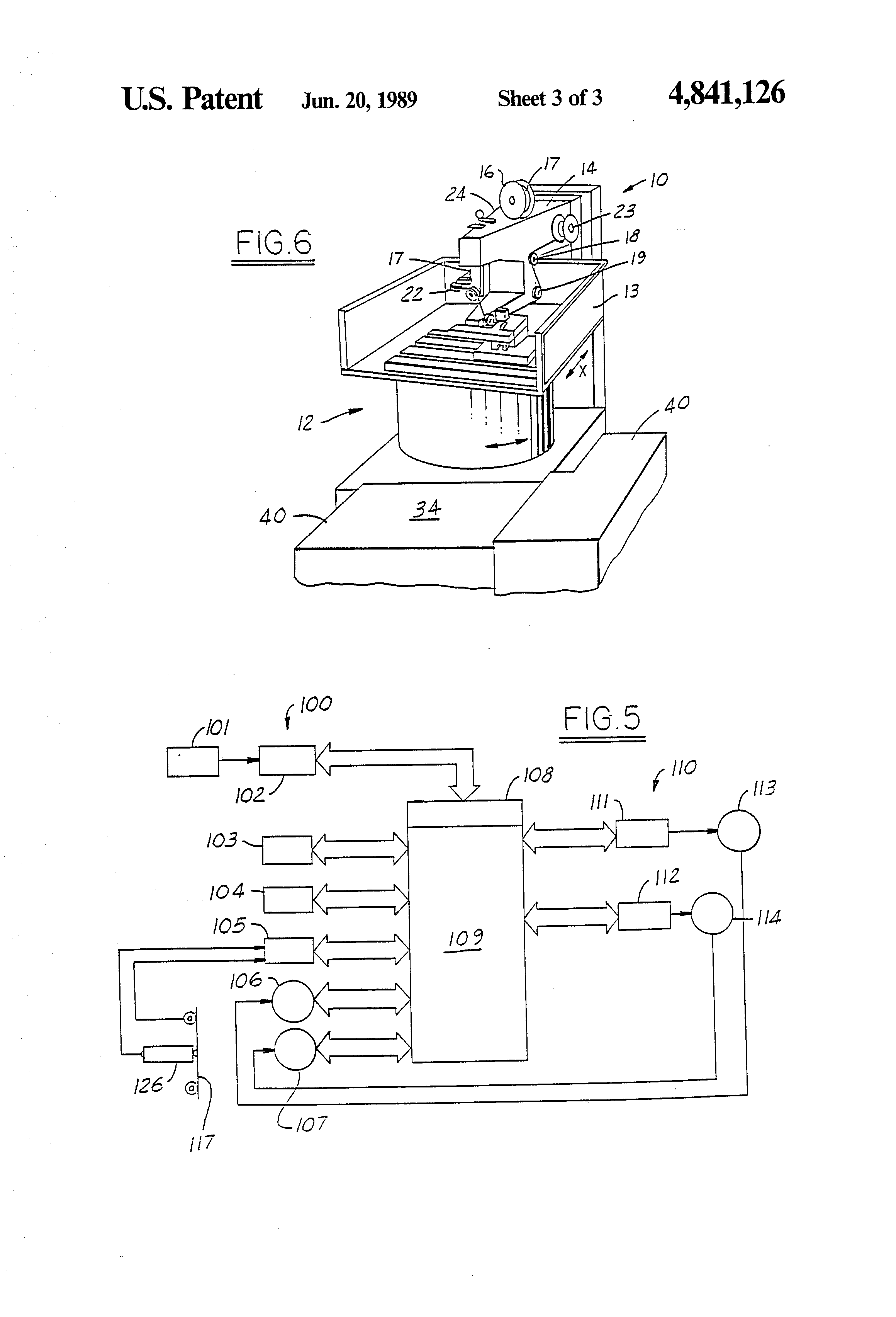 US4841126 3 patent us4841126 rotary table wire edm machine google patents  at eliteediting.co