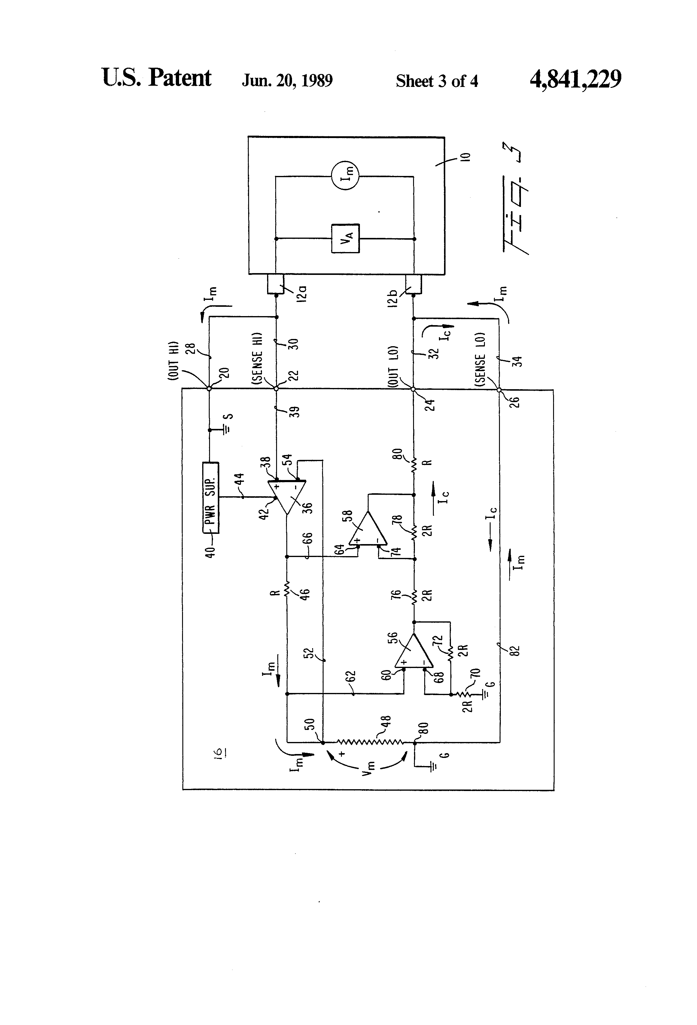 Ohmmeter Circuit Symbol : Patent us method of and circuit for ohmmeter