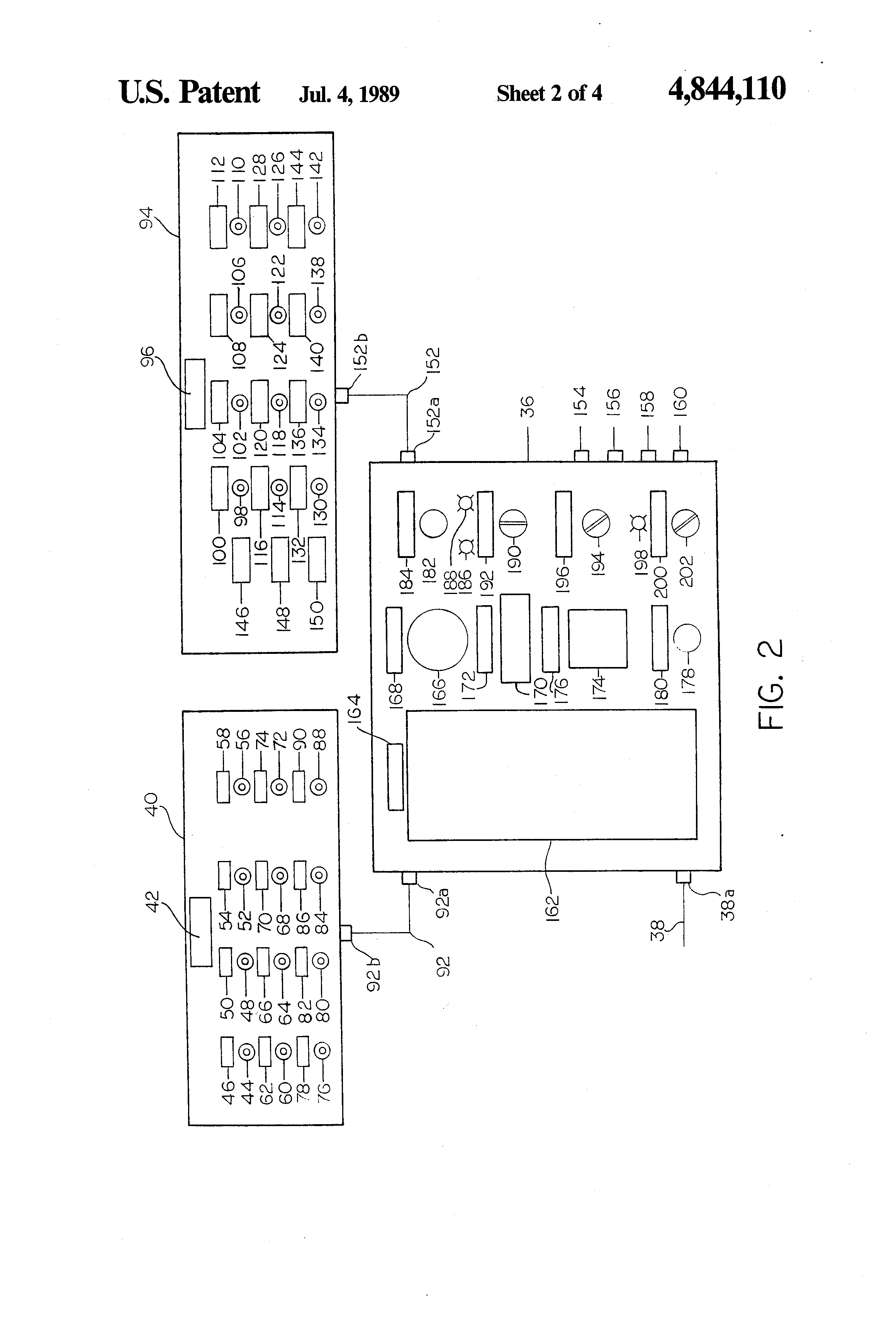 patent us control system for remotely controlled motor patent drawing