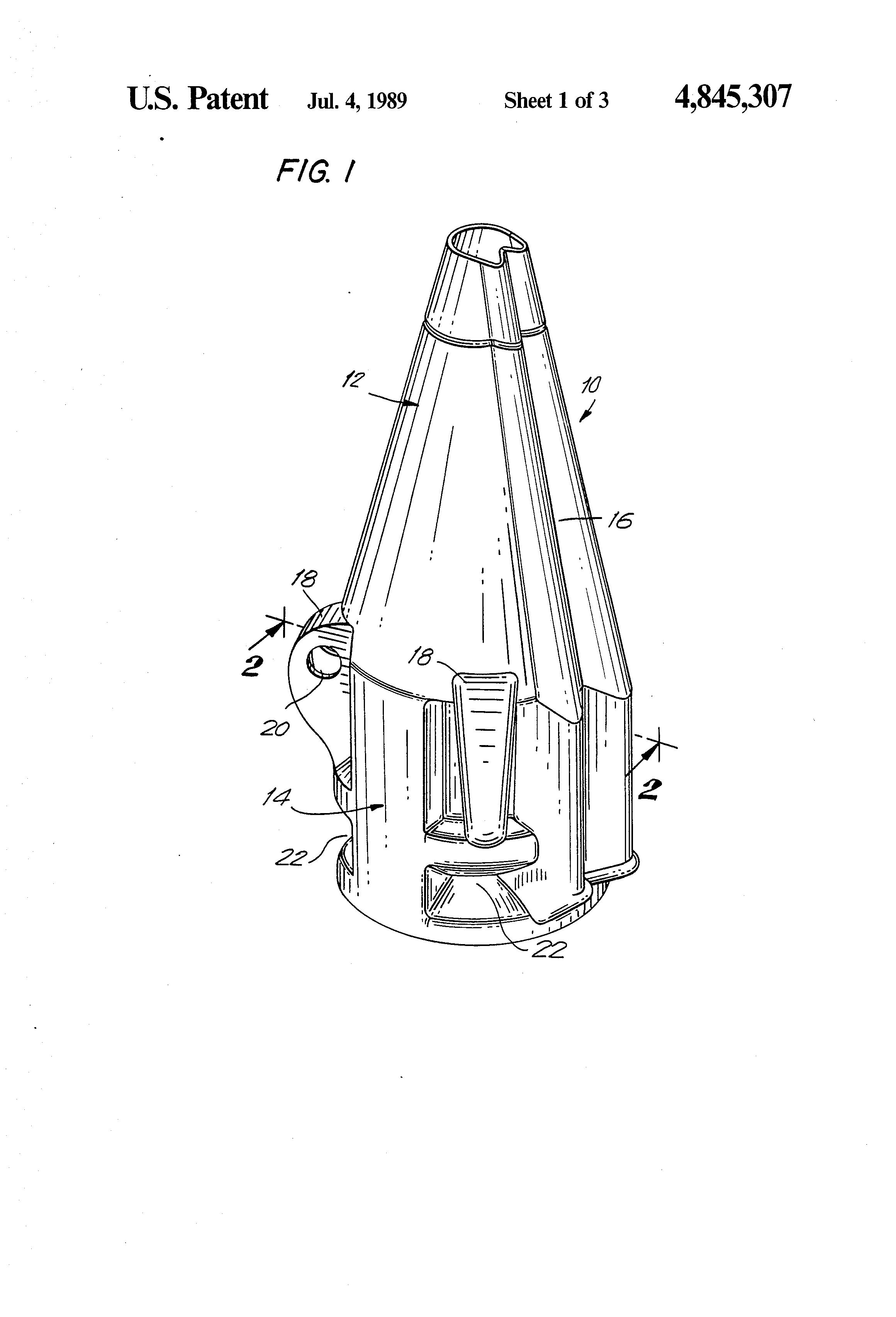 patent us4845307