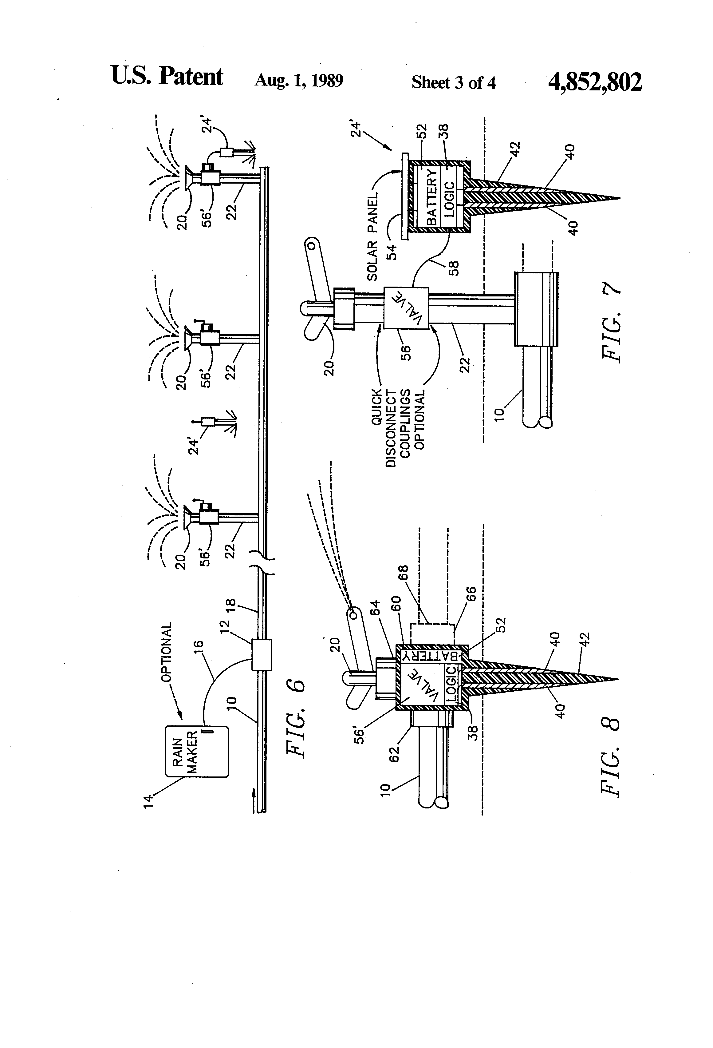 patent us4852802 - smart irrigation sprinklers