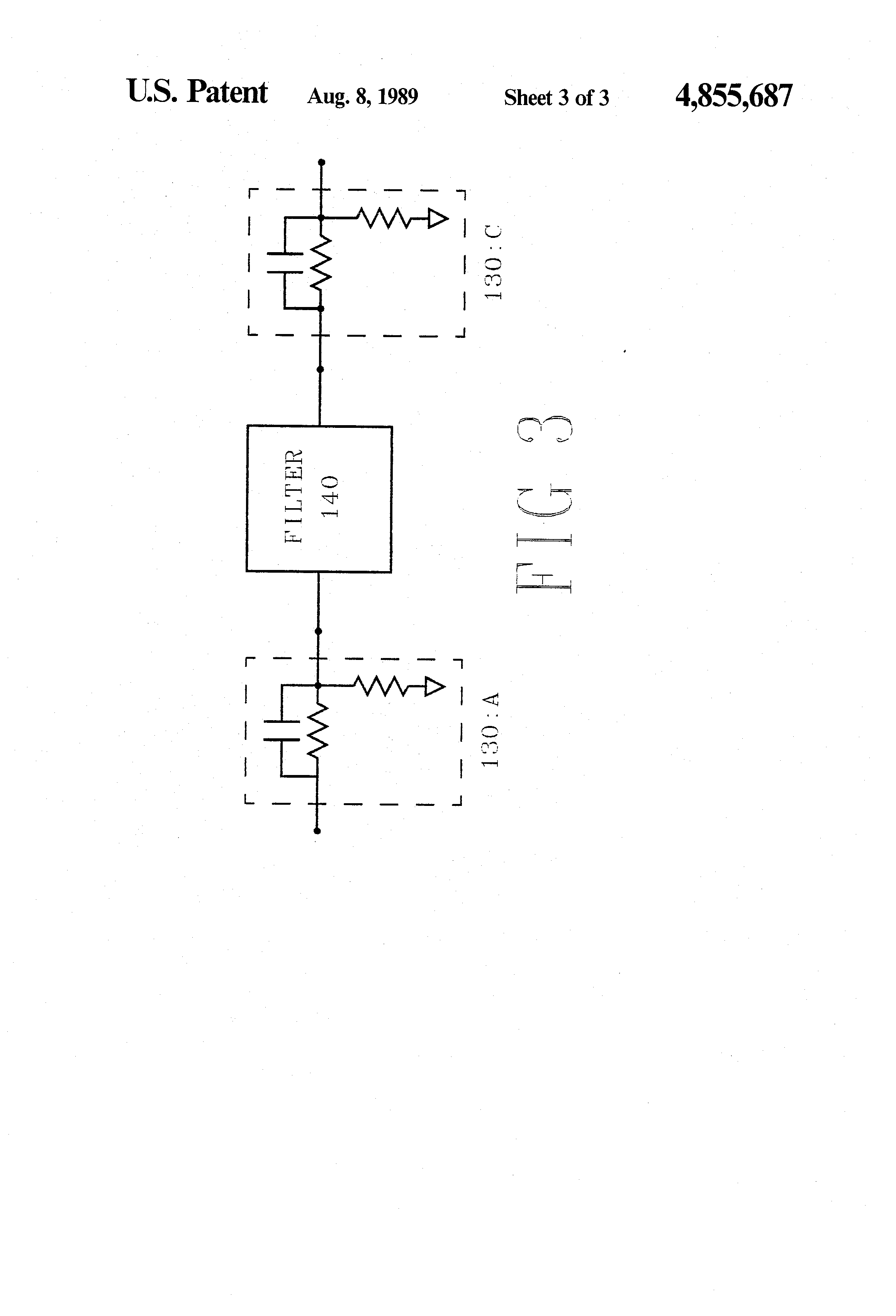 Patent Us4855687 Transimpedance Amplifier With Noise Reduction And Detector Circuit Resistor Feedback Drawing