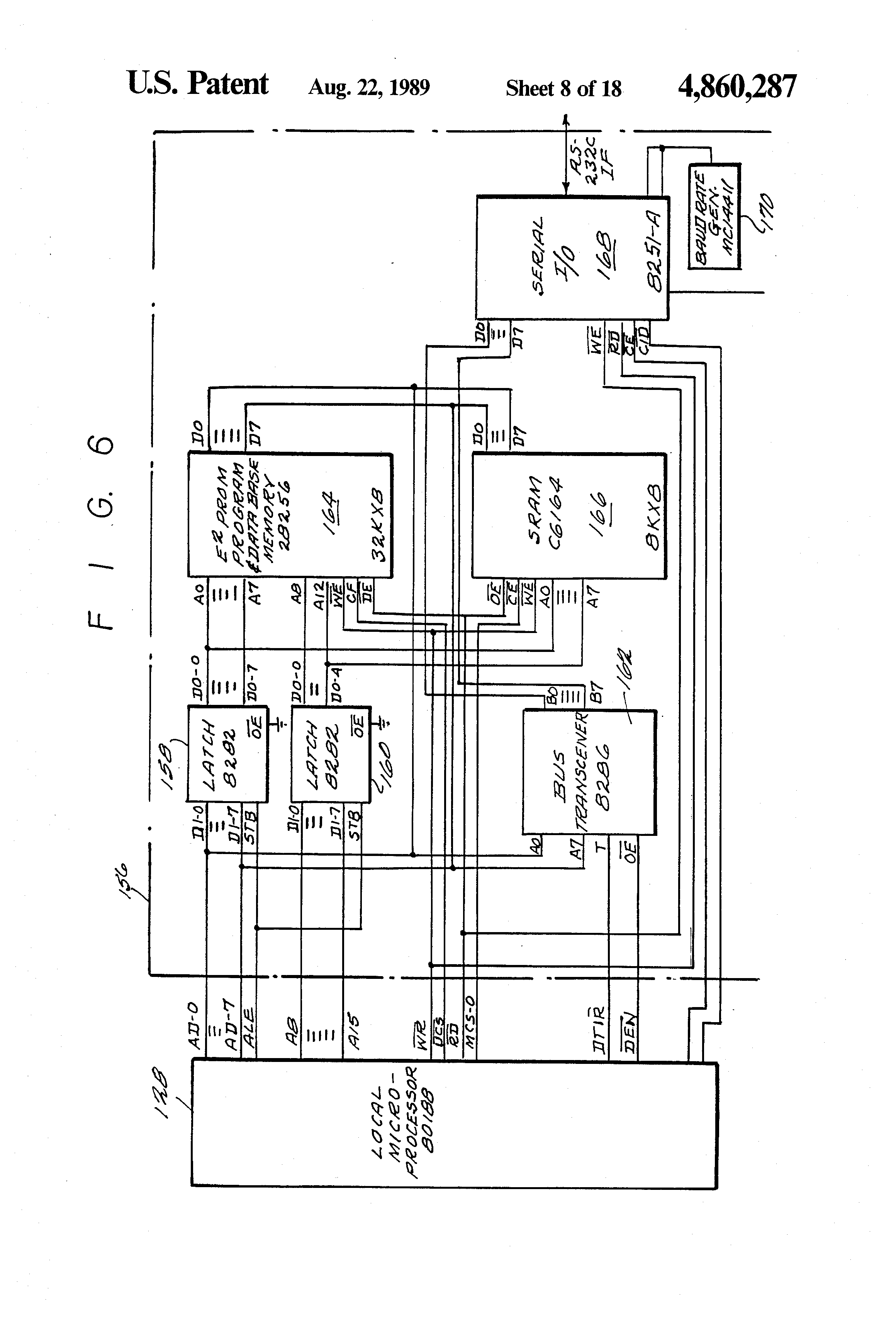 US4860287 9 patent us4860287 network having a synchronizer for sm 1231 wiring diagram at nearapp.co