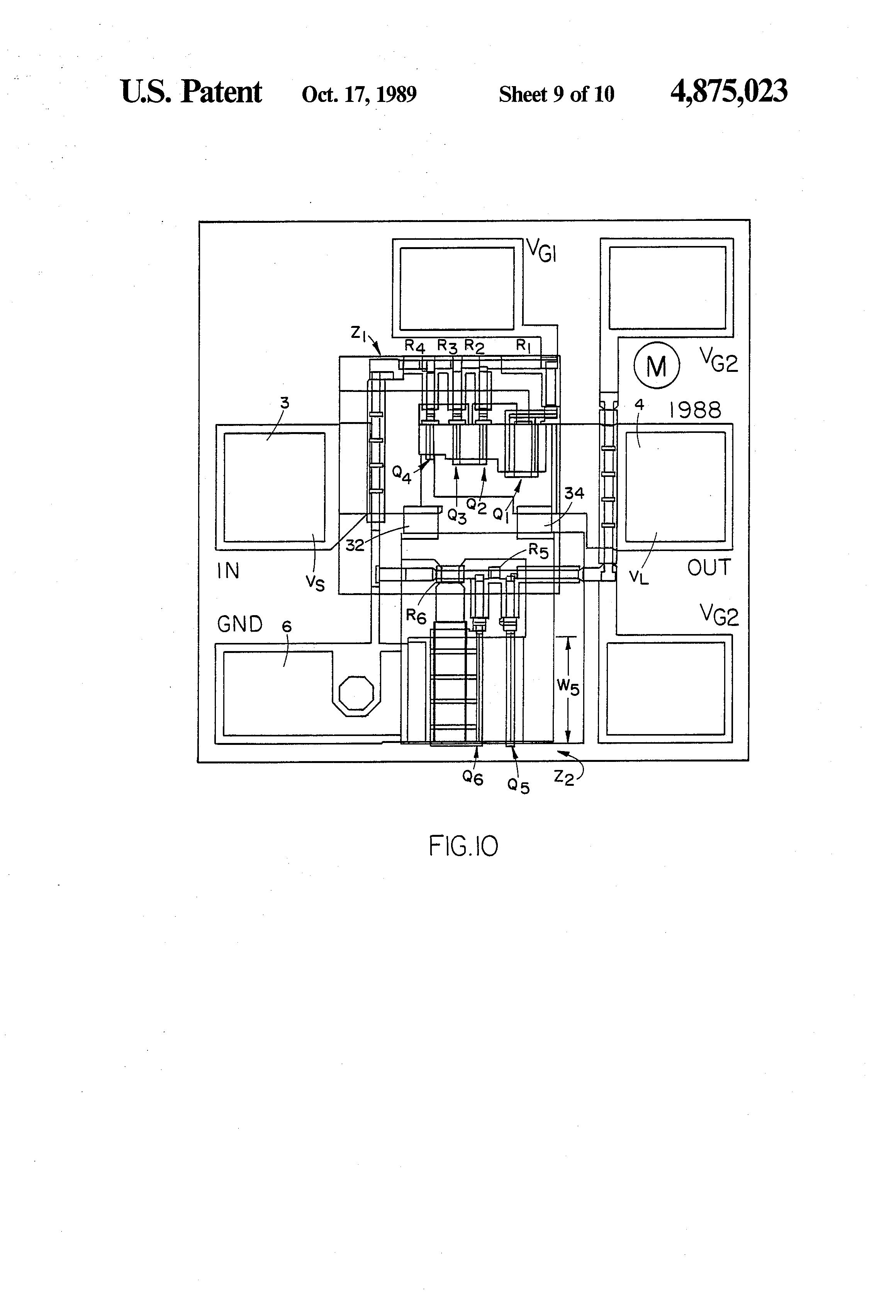 patent us4875023