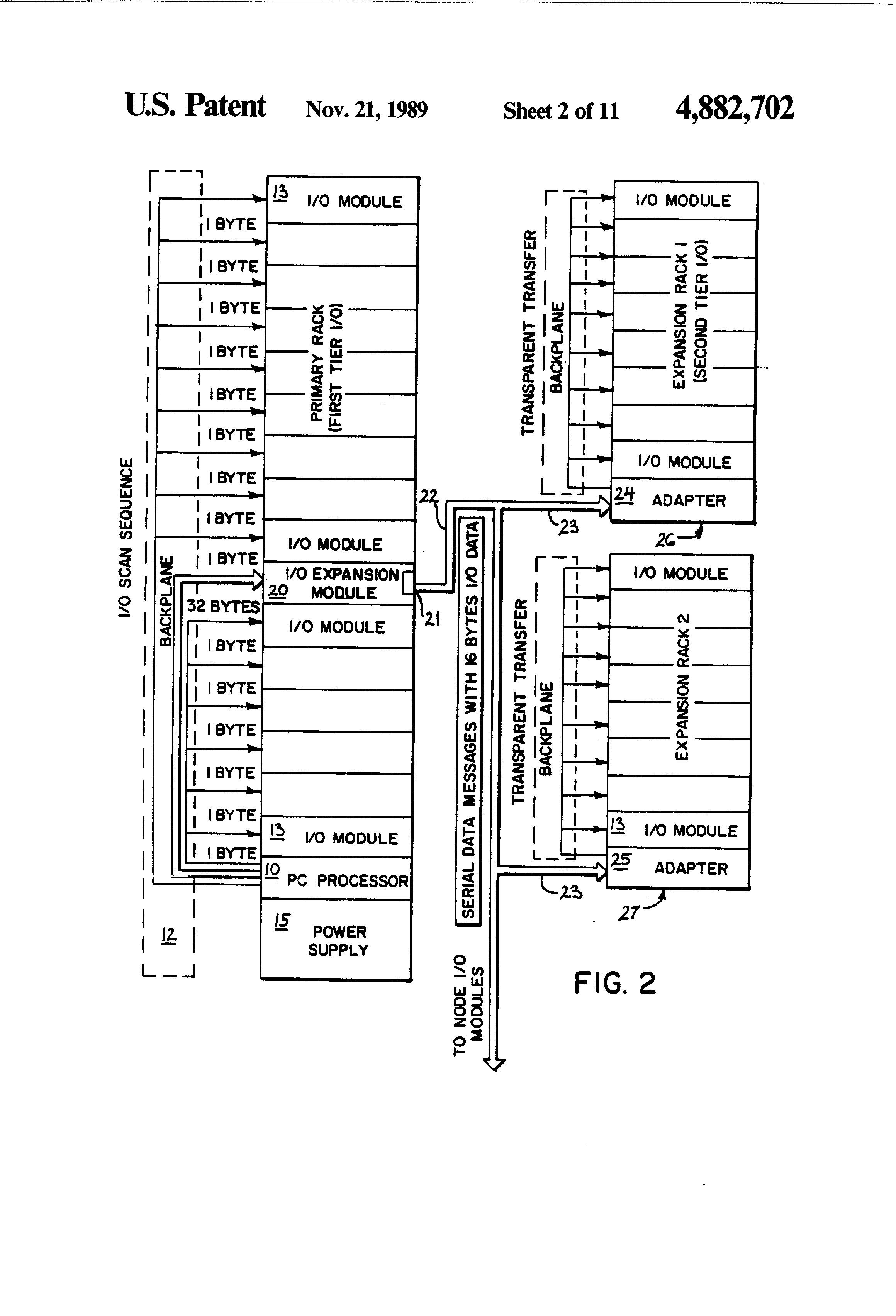 patent us programmable controller i o expansion patent drawing