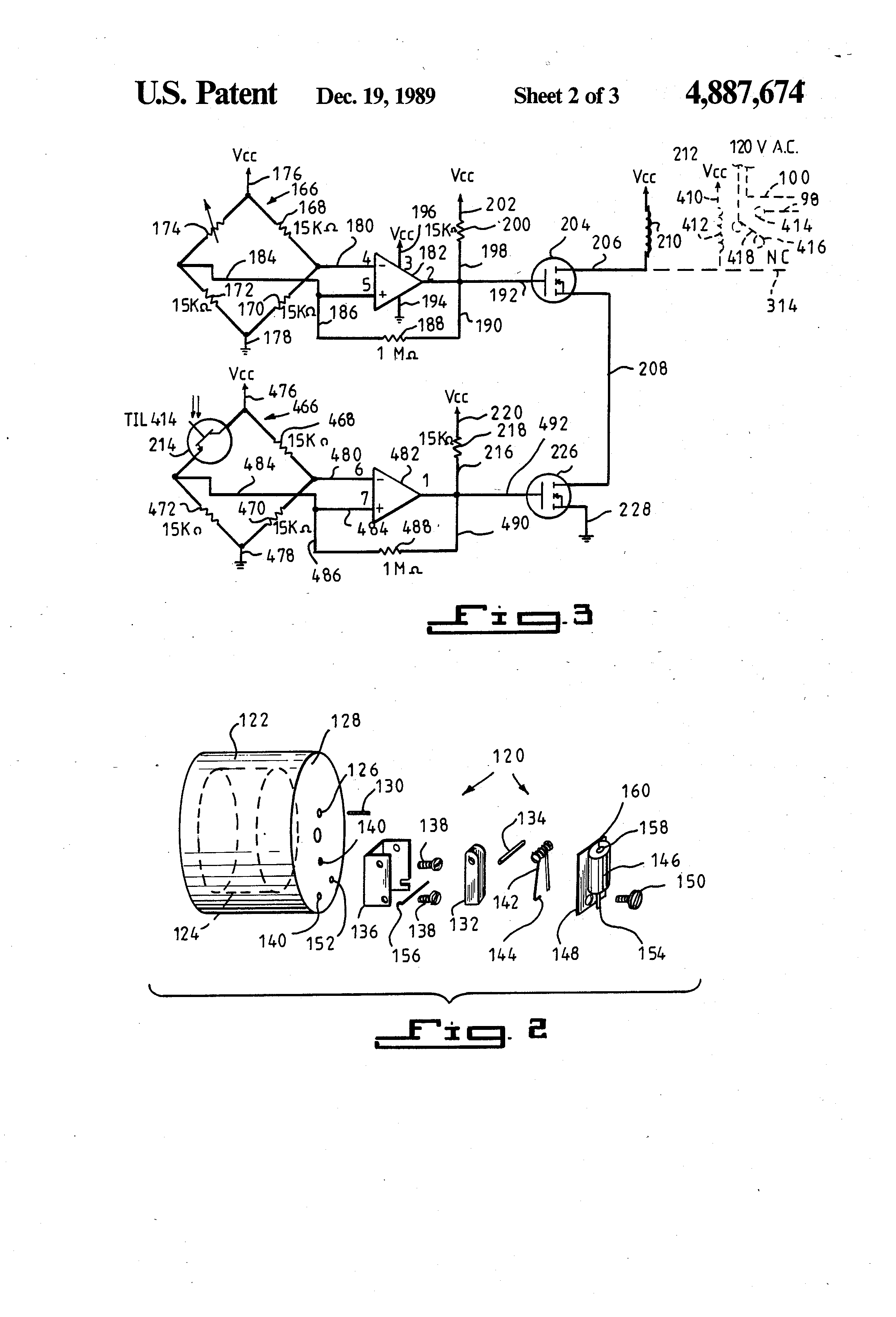 patent us4887674 - cartridge operated fire extinguisher
