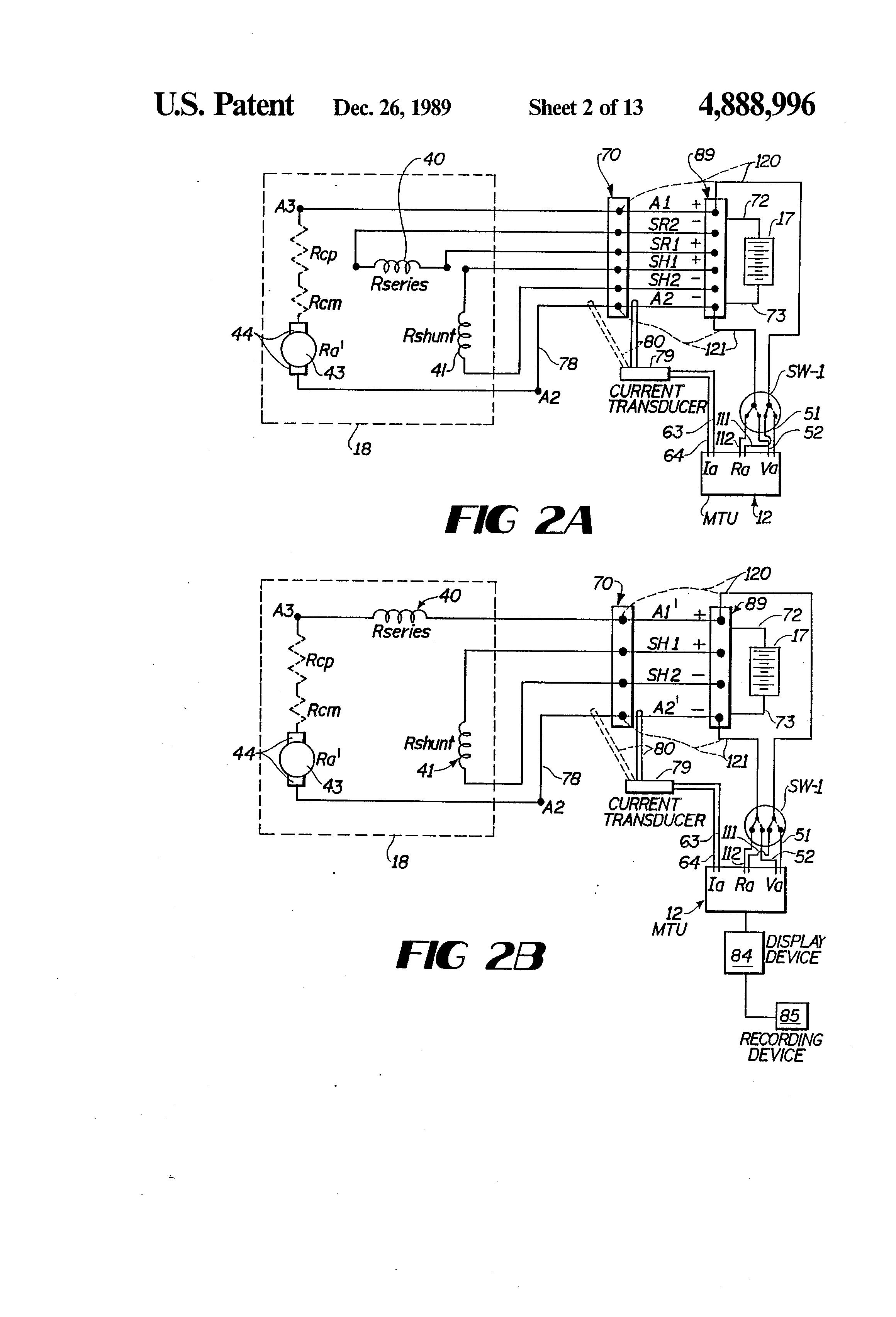 US4888996 2 patent us4888996 dc motor operated valve remote monitoring motor operated valve wiring diagram at gsmportal.co