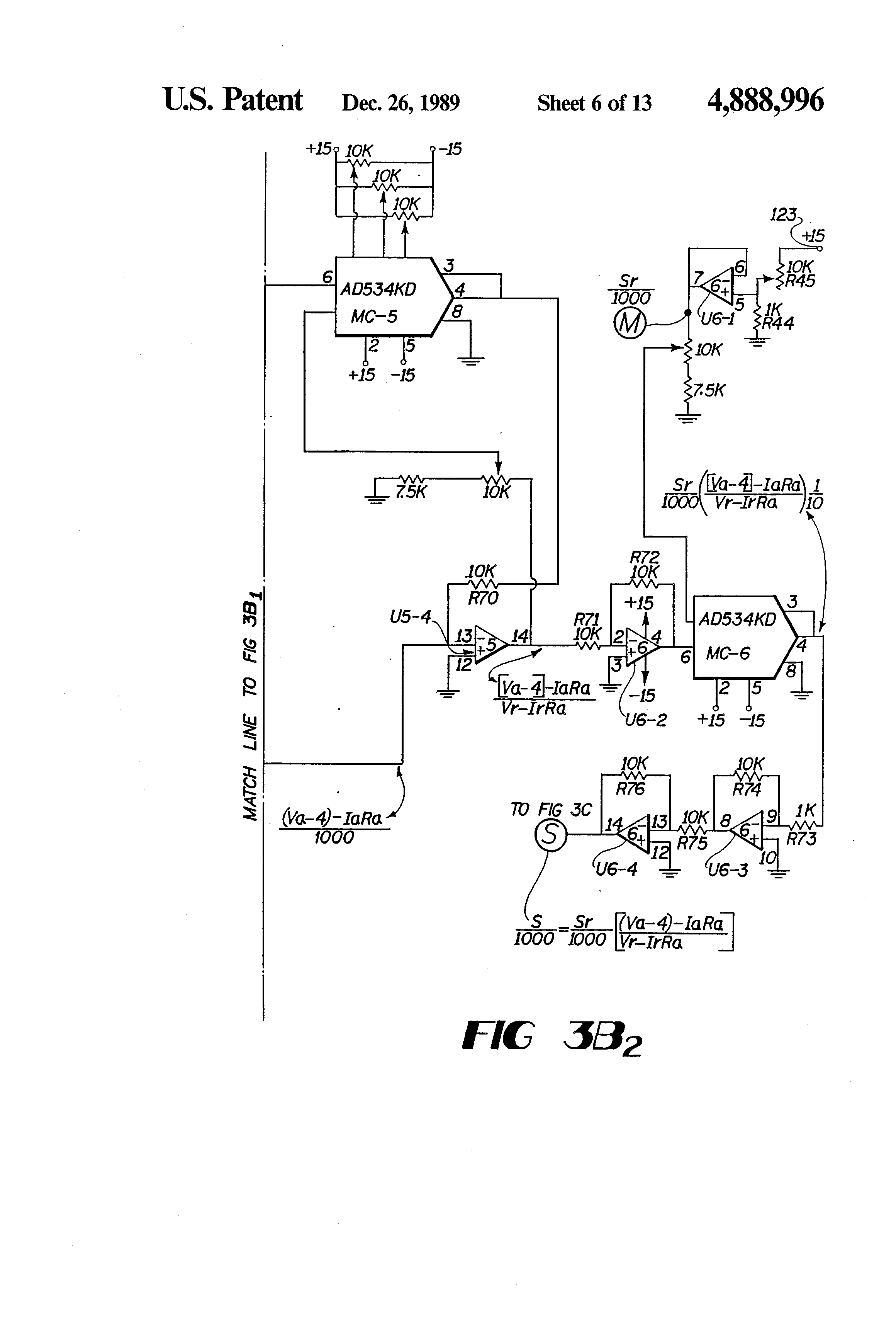 US4888996 6 patent us4888996 dc motor operated valve remote monitoring motor operated valve wiring diagram at gsmx.co