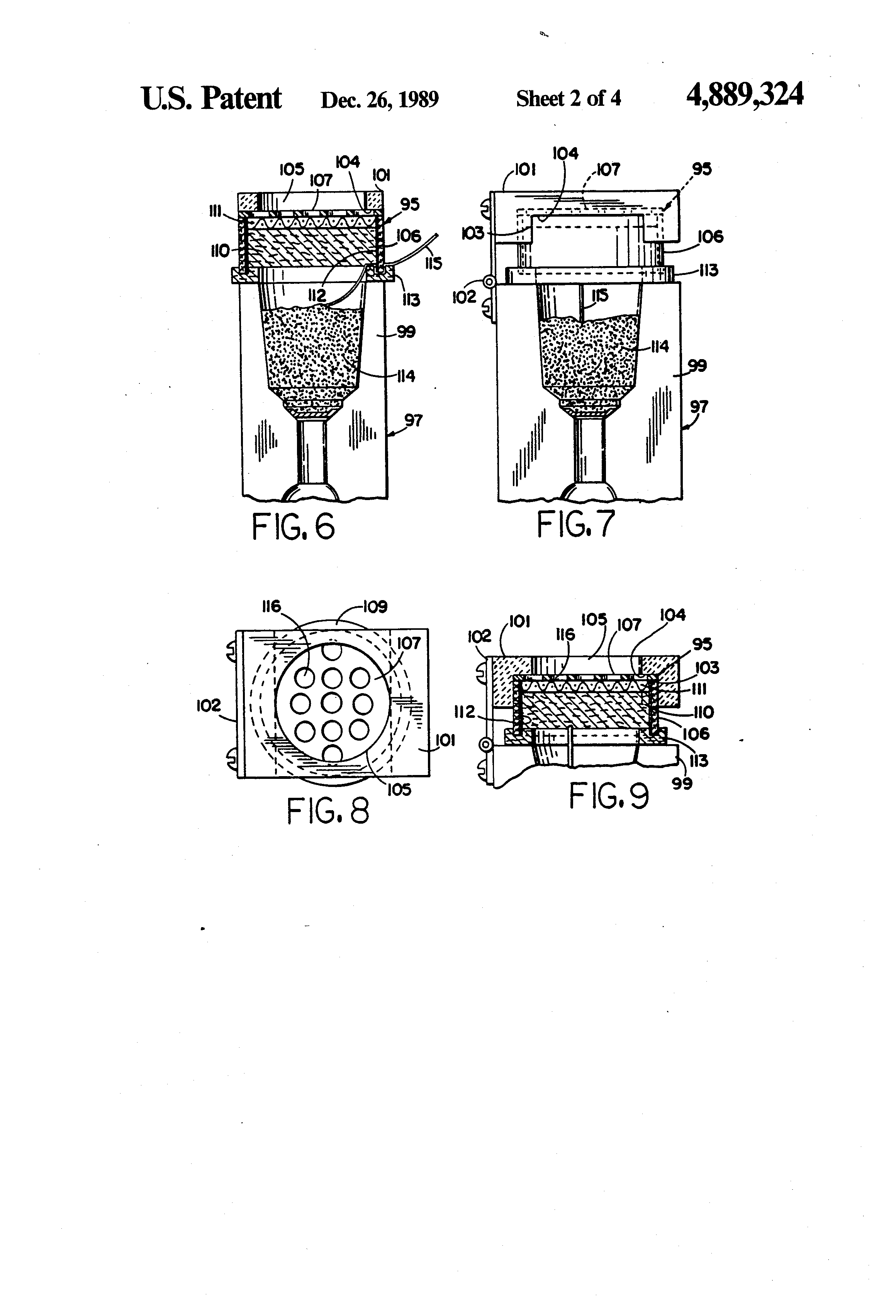 patent us exothermic welding apparatus and method patent drawing