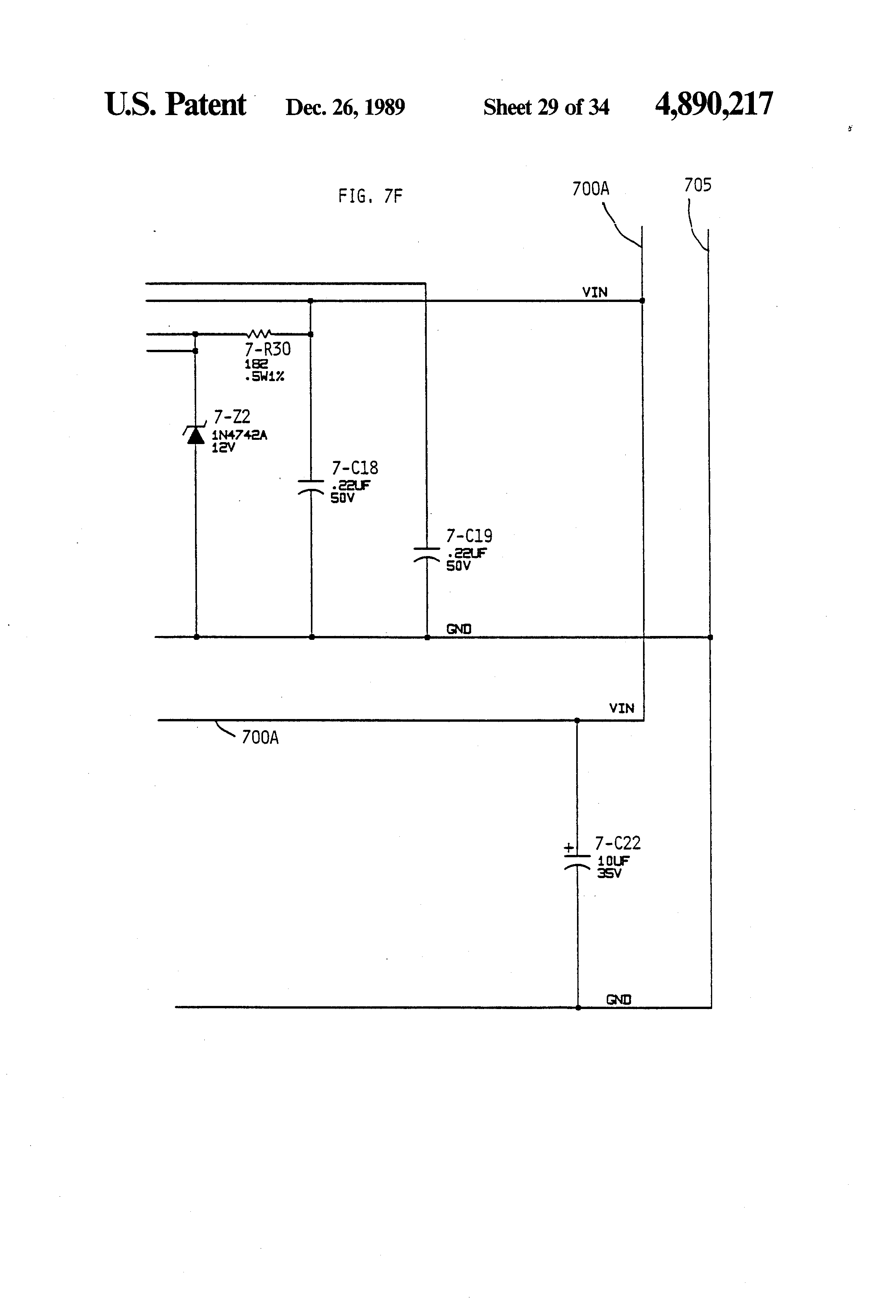 US4890217 29 patent us4890217 universal power supply, independent converter u-92a/u wiring diagram at bayanpartner.co
