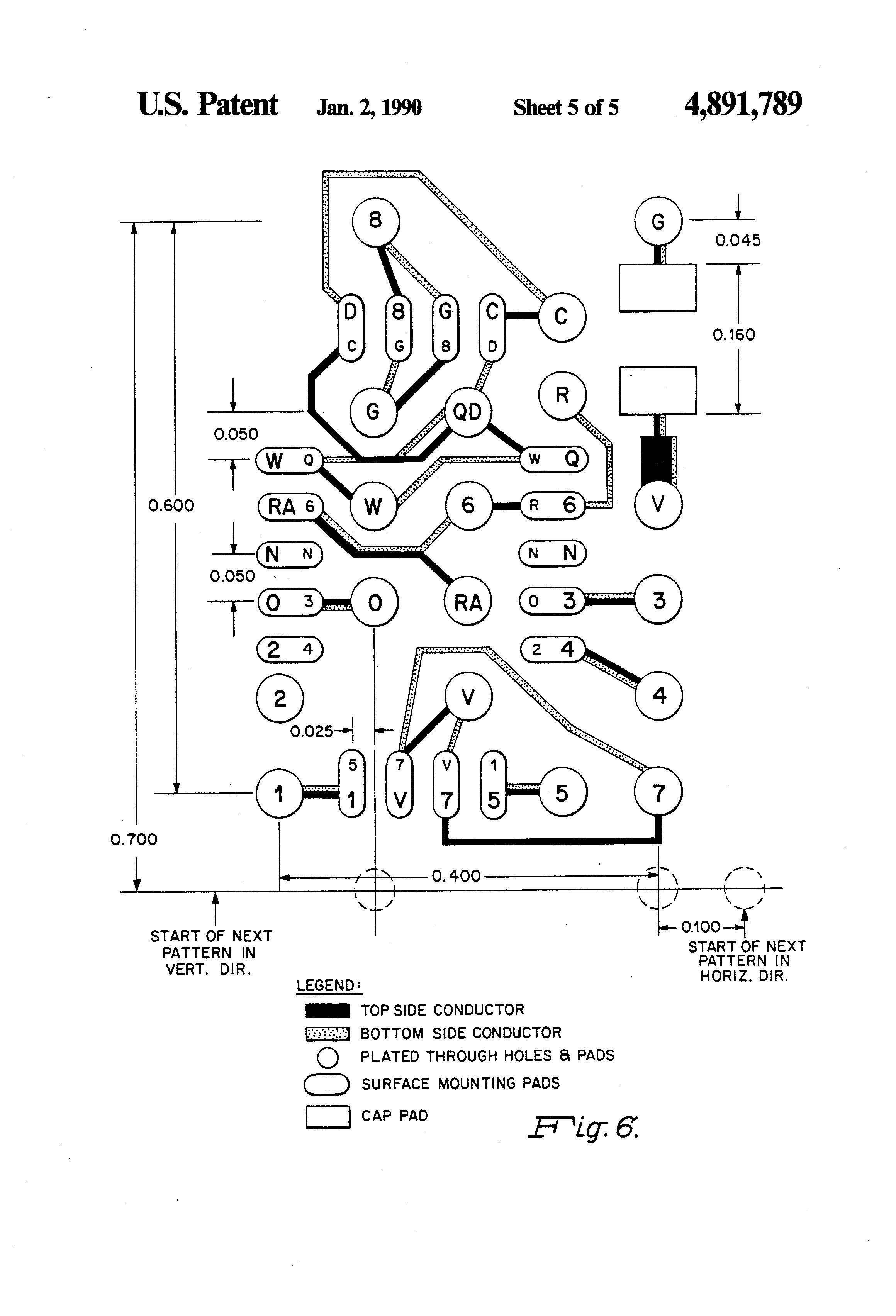 patent us4891789