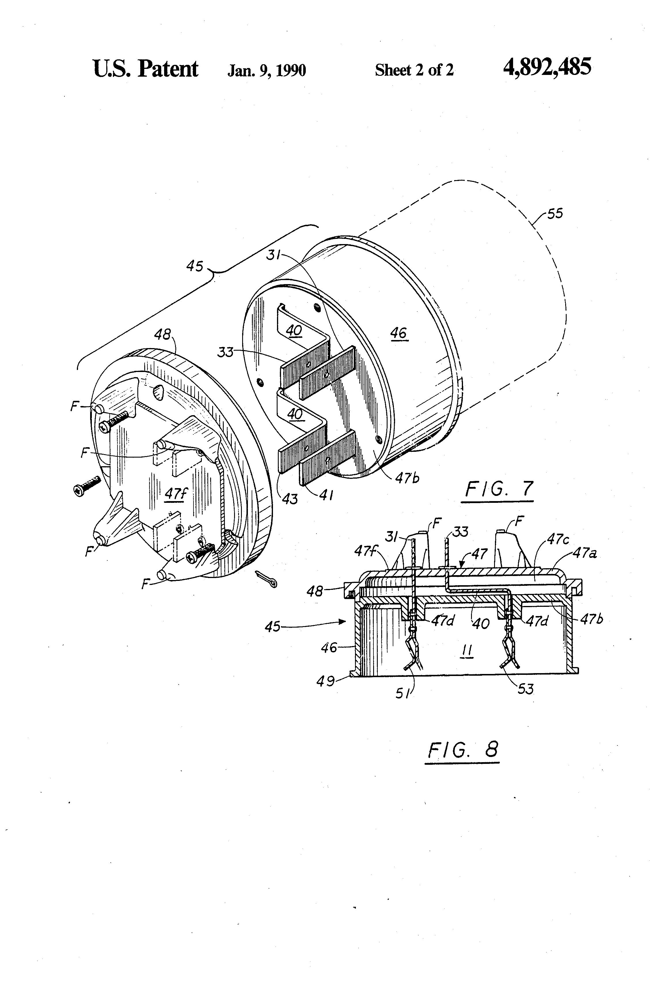 patent us4892485