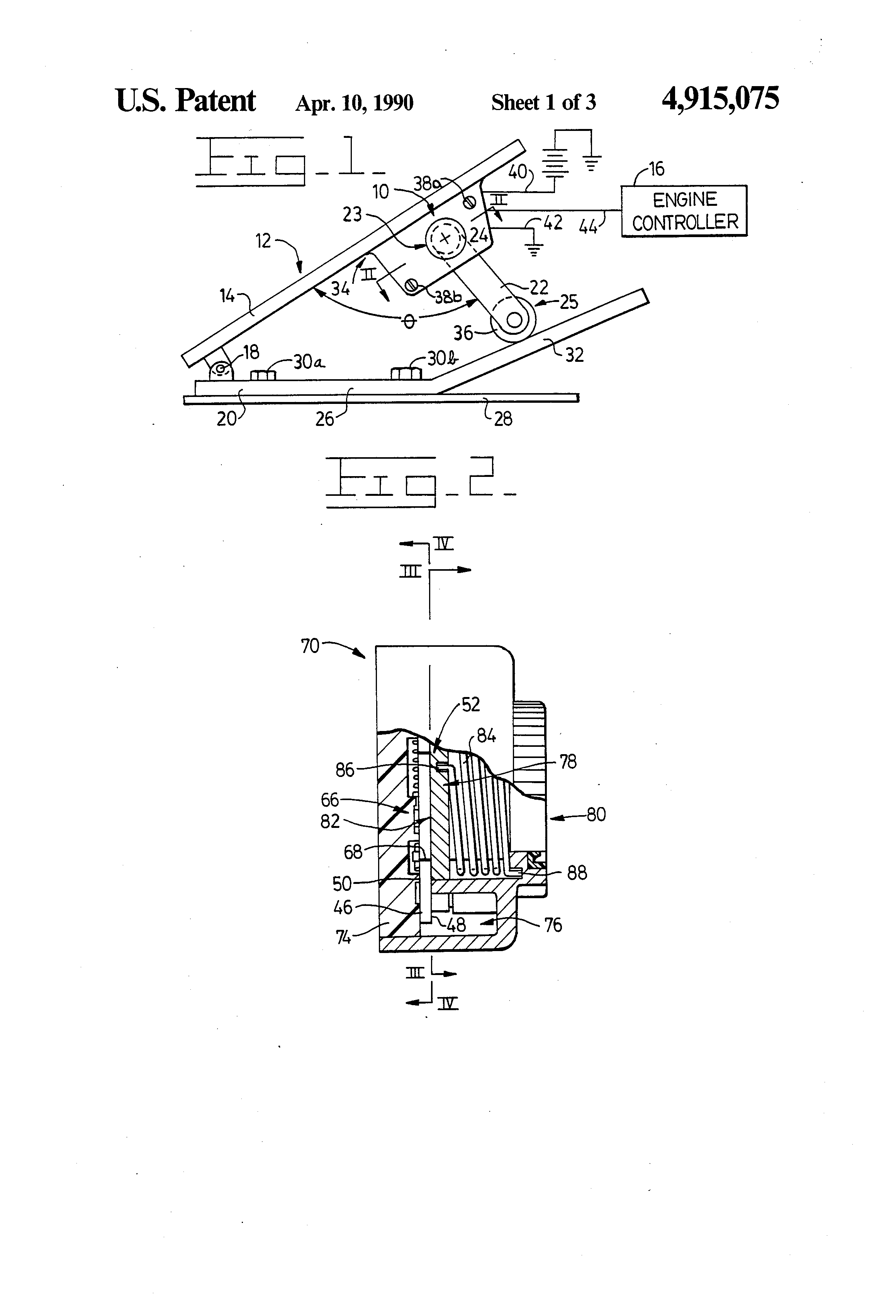 US4915075 1 patent us4915075 accelerator pedal position sensor google patents  at mifinder.co