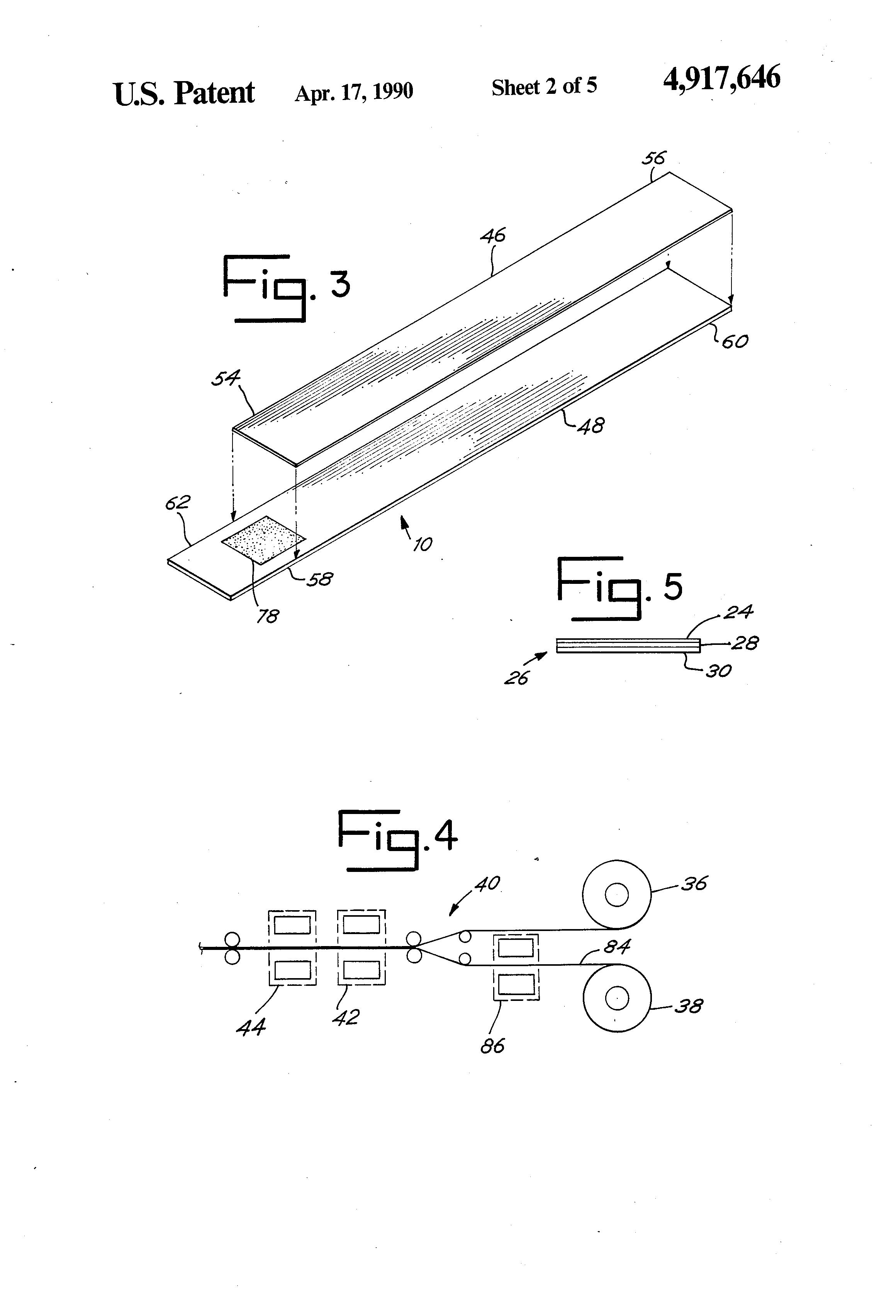 Patent Us4917646 Self Sealing Valve A Self Sealing Non