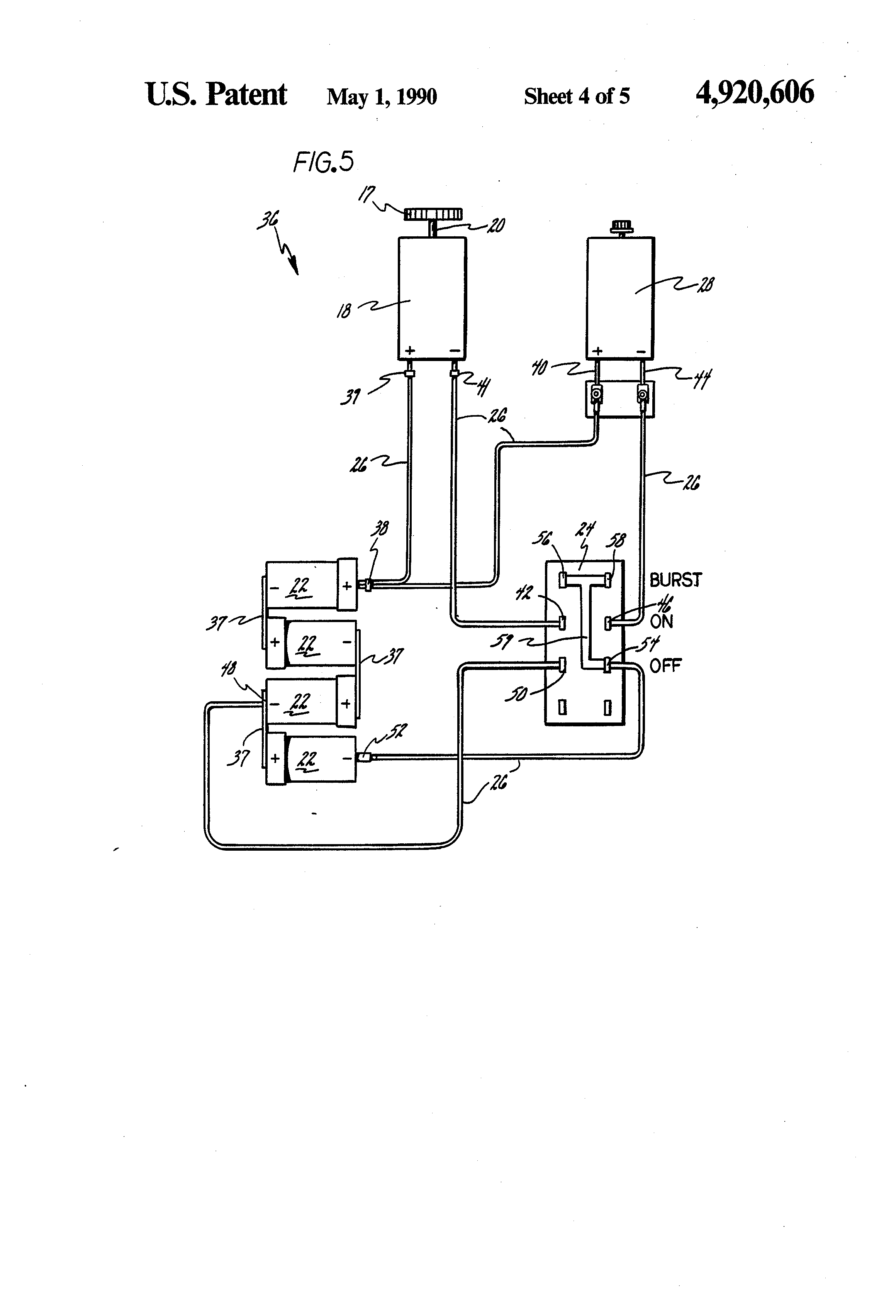patent us electrical power circuit for a vacuum cleaner patent drawing