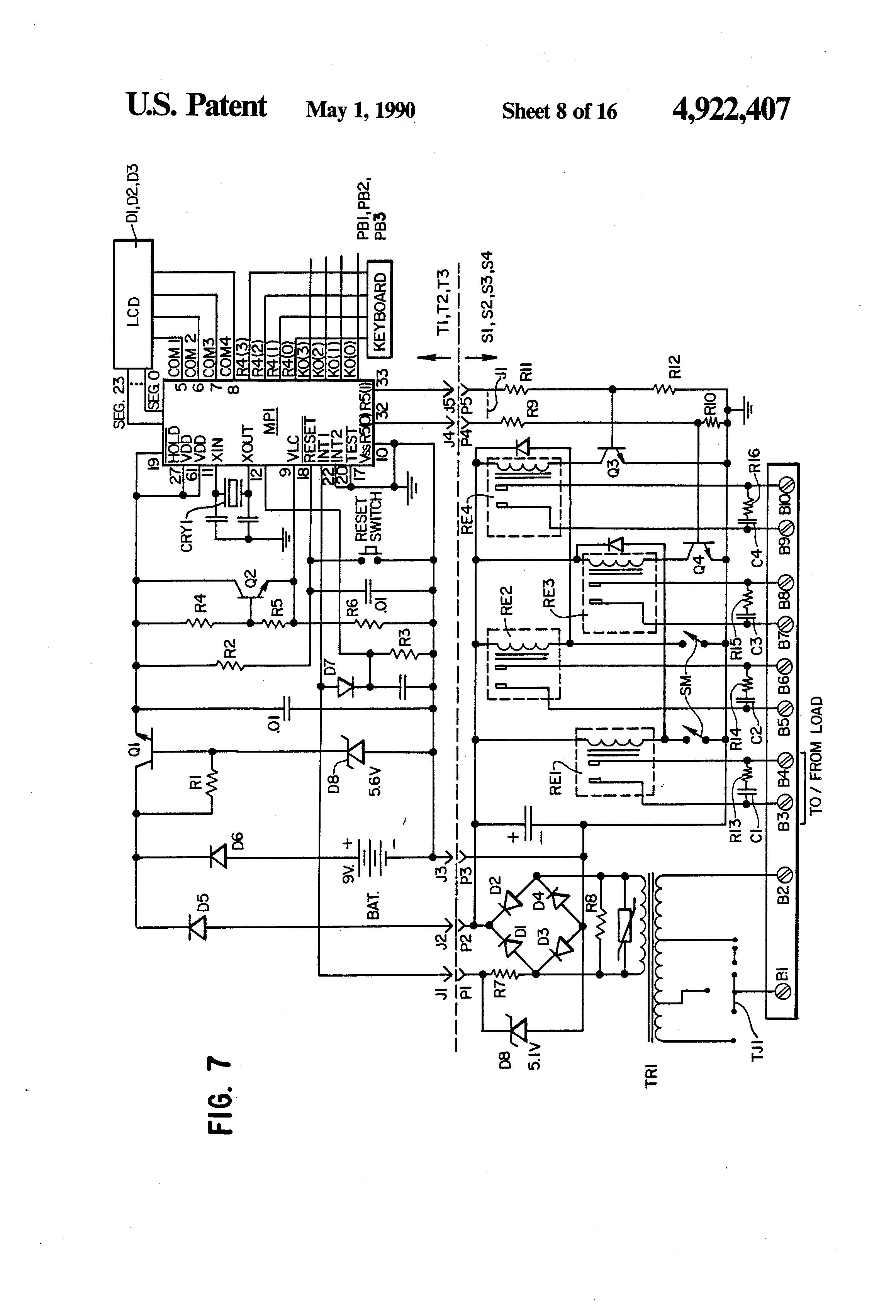 patent us4922407