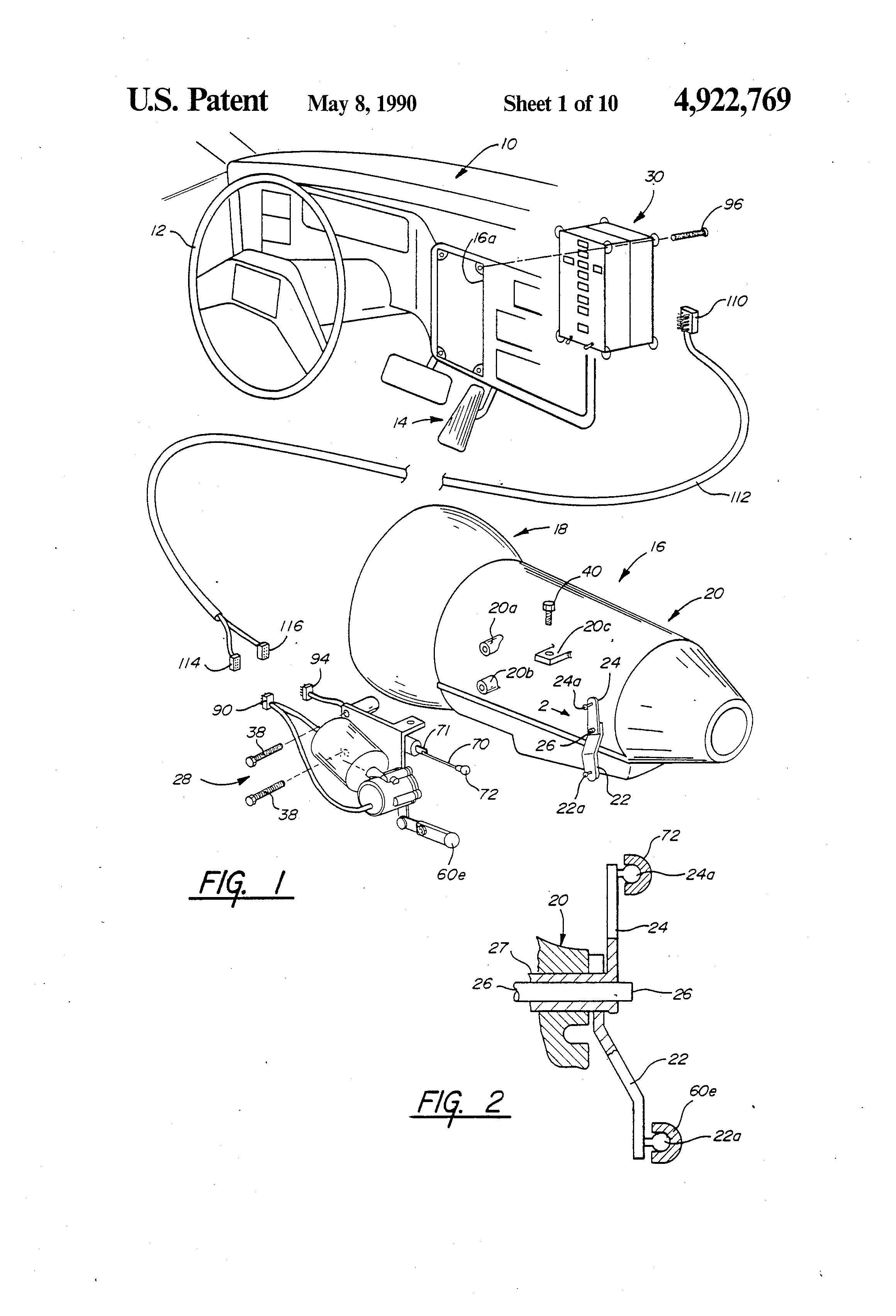 patent us4922769