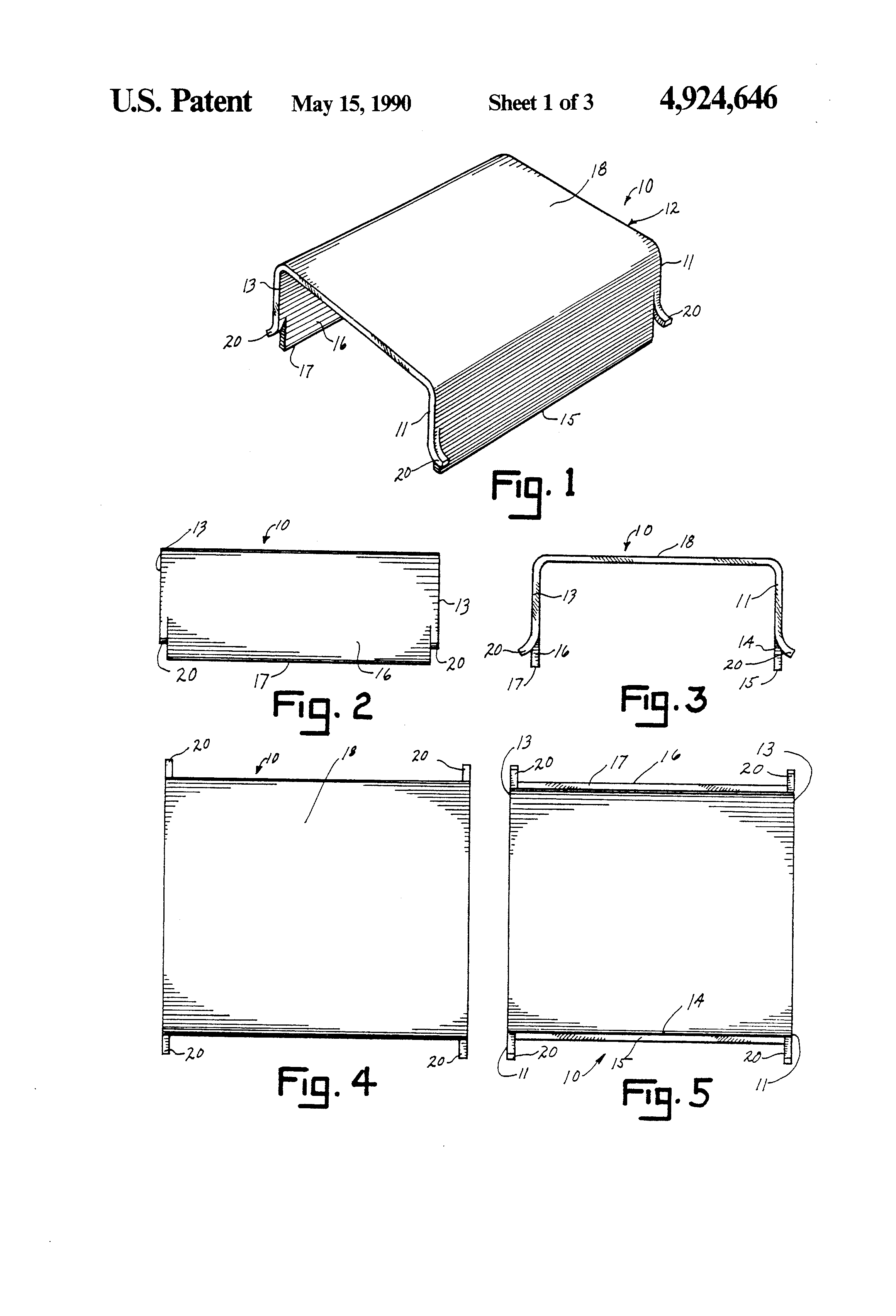 patent us4924646 - wire guard