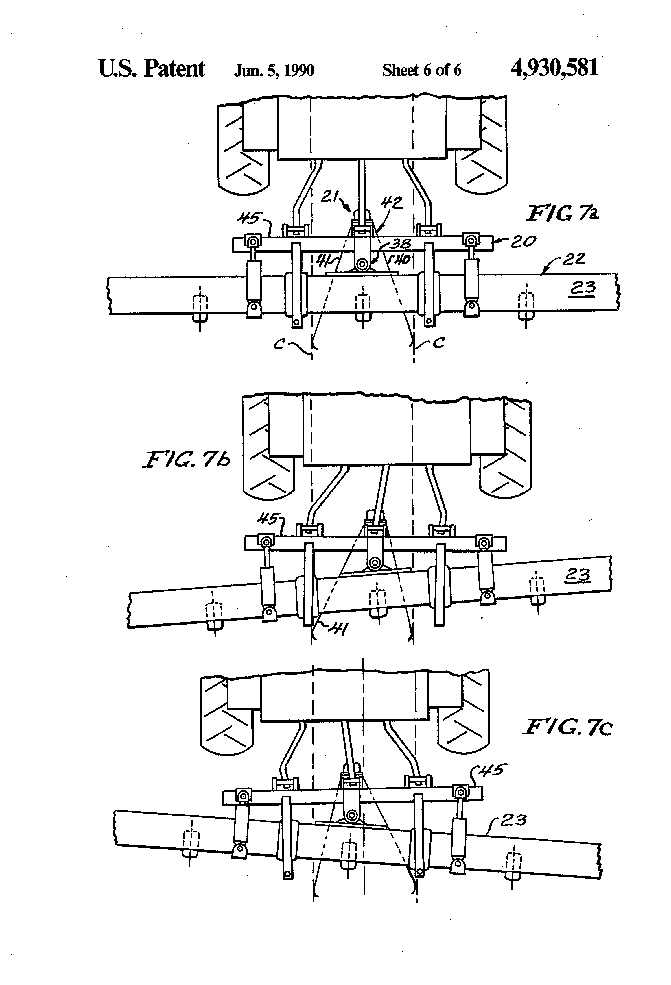 patent us4930581 guidance control apparatus for agricultural patent drawing