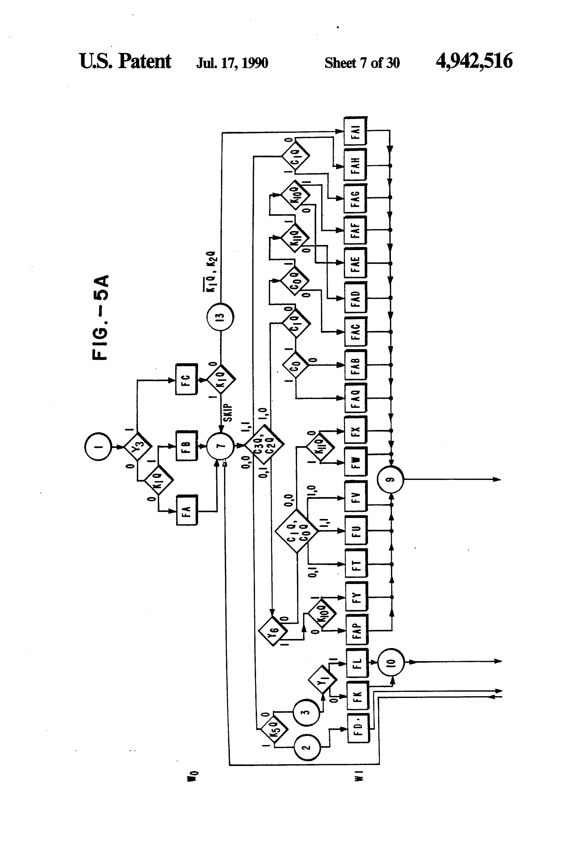 patent us4942516