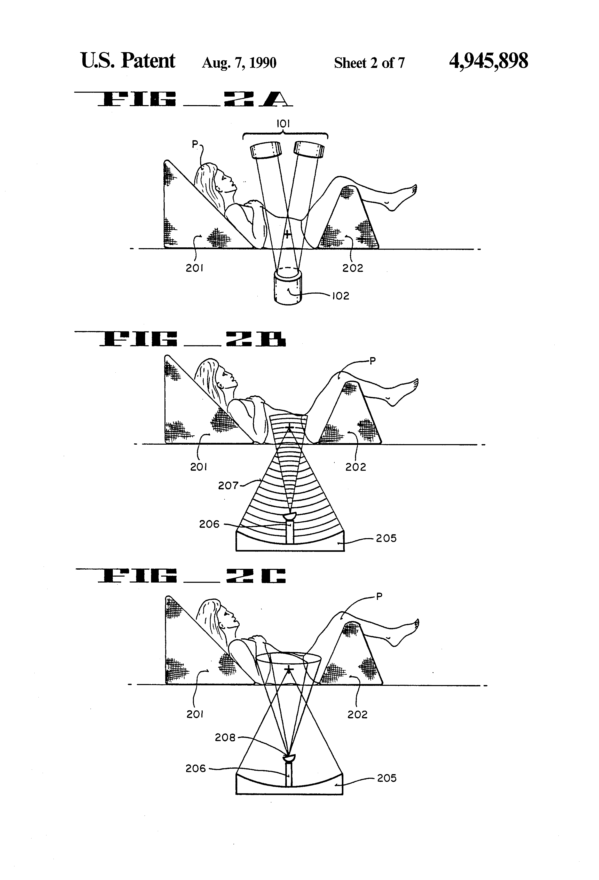 patent us4945898 - power supply