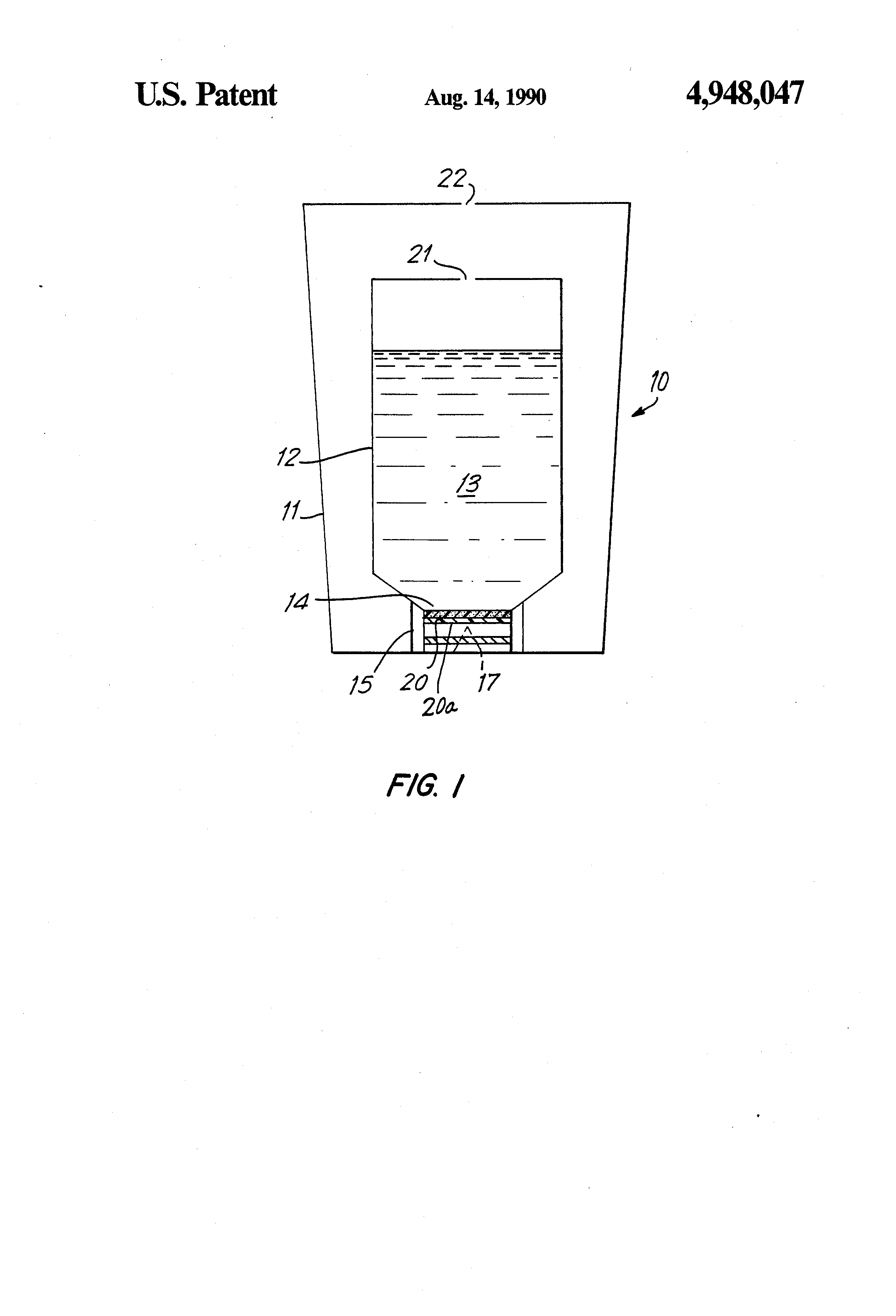 Patent us4948047 air freshener with microporous membrane patent drawing hexwebz Image collections