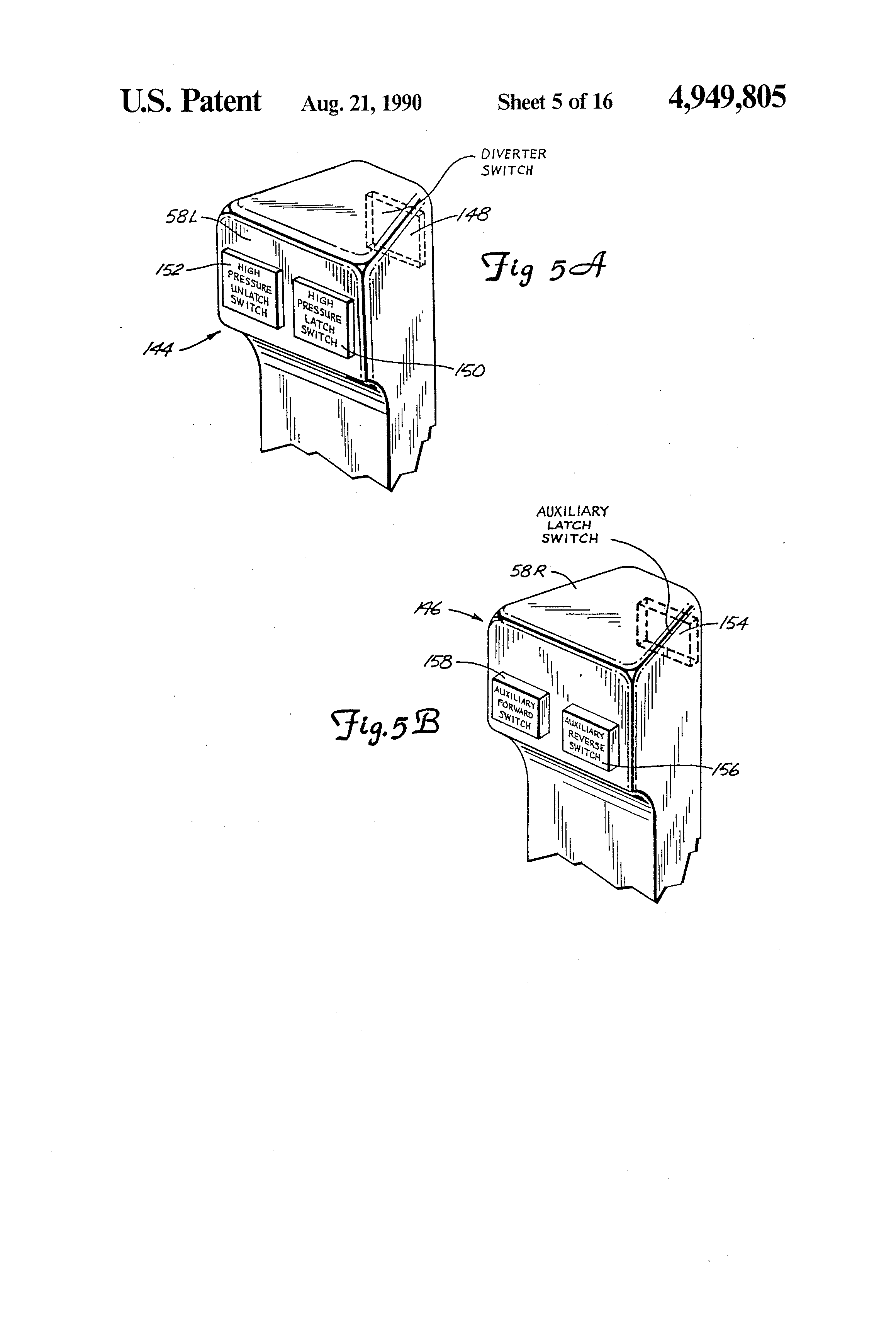 US4949805 additionally US4949805 likewise US4949805 furthermore Case Excavator Wiring Diagrams likewise Hydrostatic Motor Diagram. on us4949805