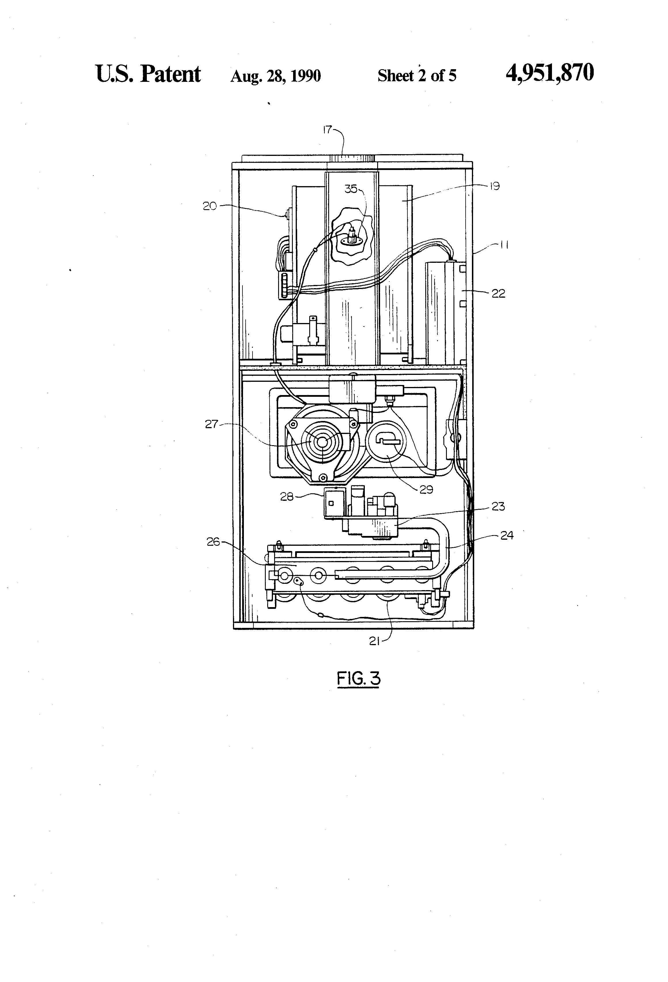 heat exchanger control valve location water control valve