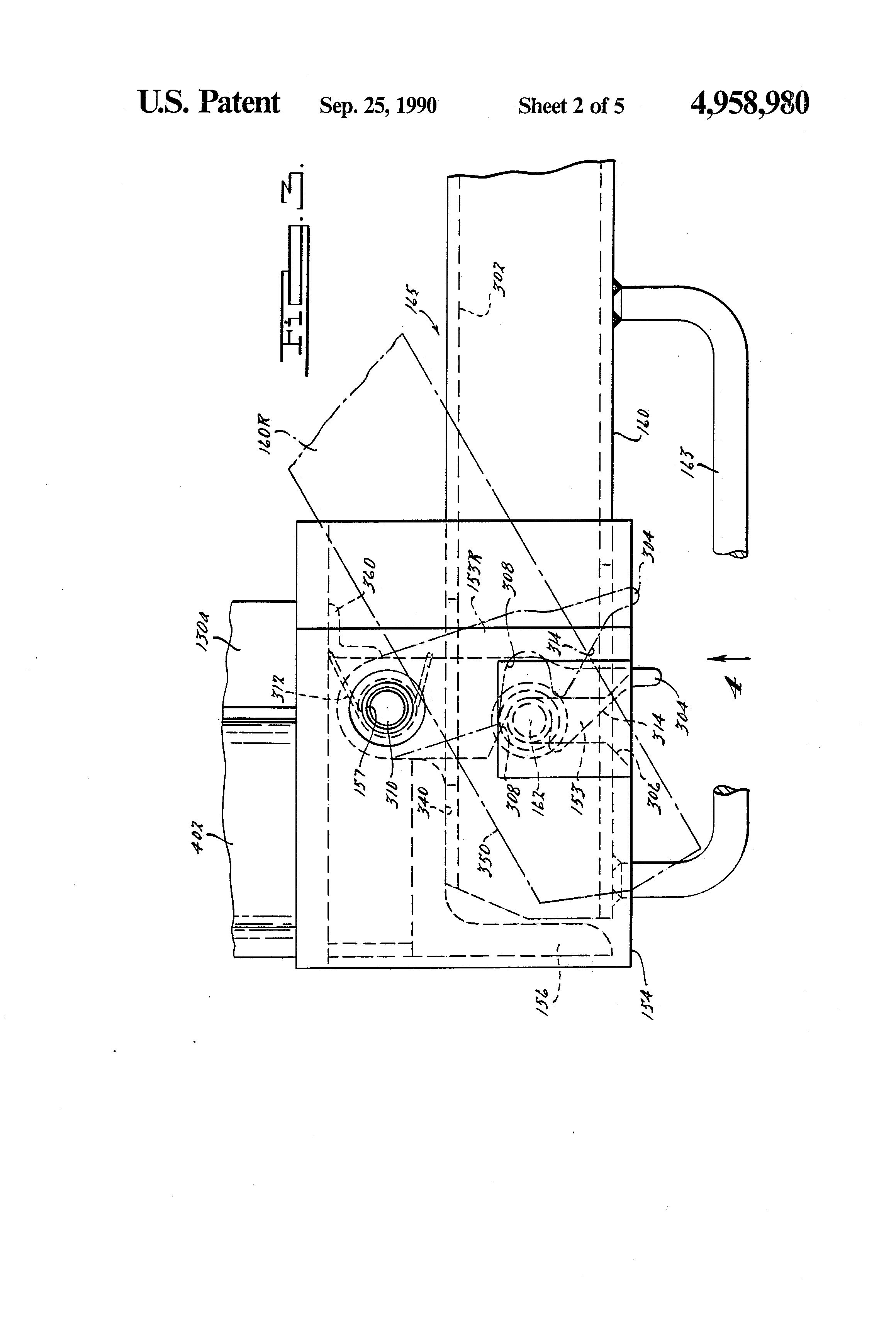patent us4958980 quick connect disconnect wheel cradle