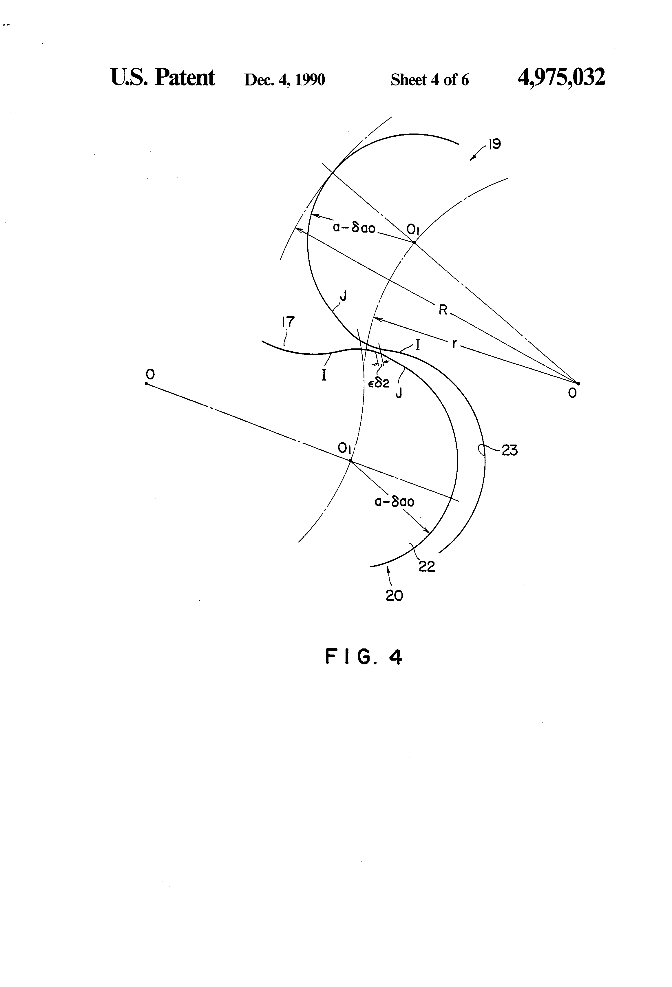 Patent us4975032 roots type blower having reduced gap between patent drawing hexwebz Image collections