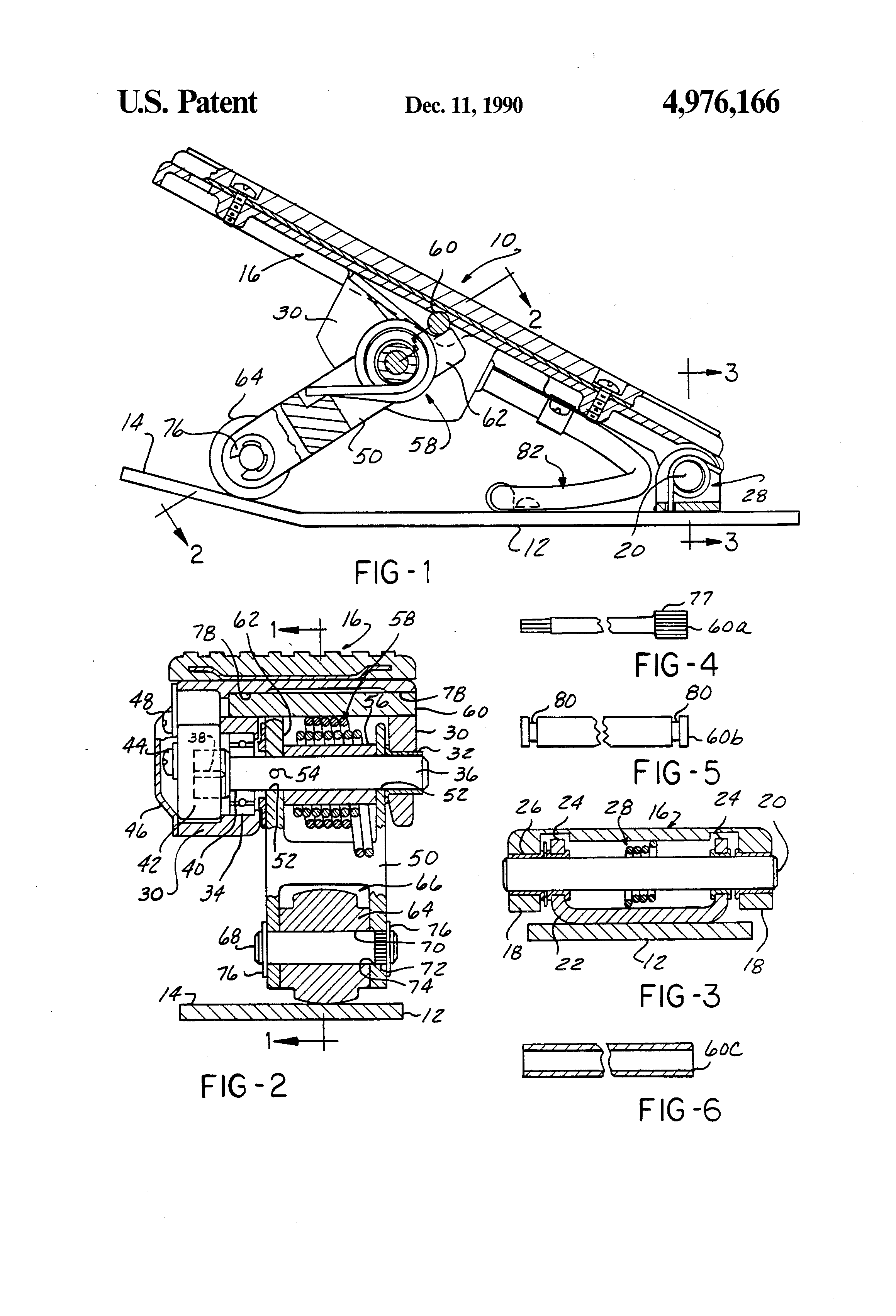 patent us4976166 - electronic foot pedal