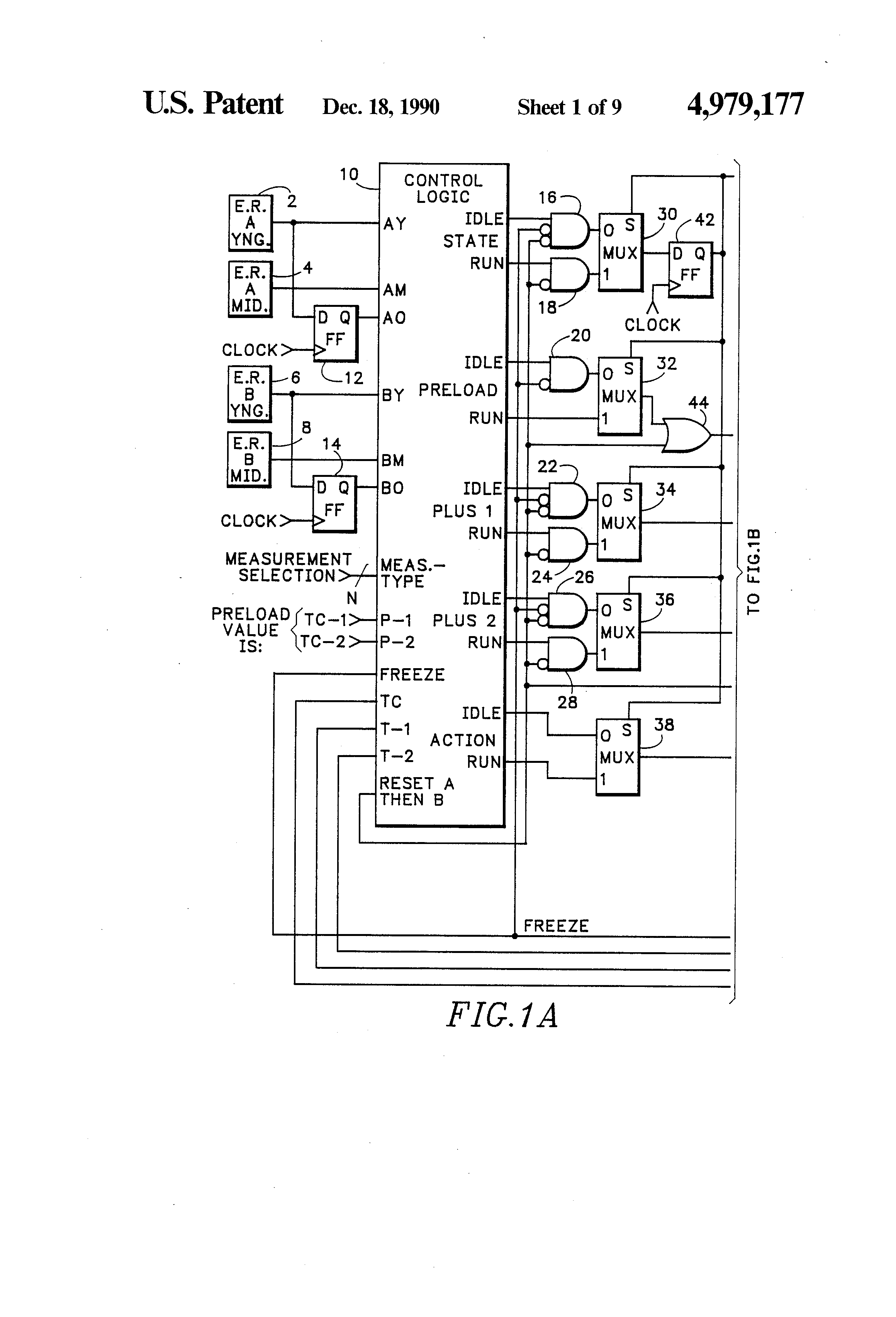 Patent Us4979177 Enhanced Counter Timer Resolution In A Logic Analyzer Block Diagram Drawing