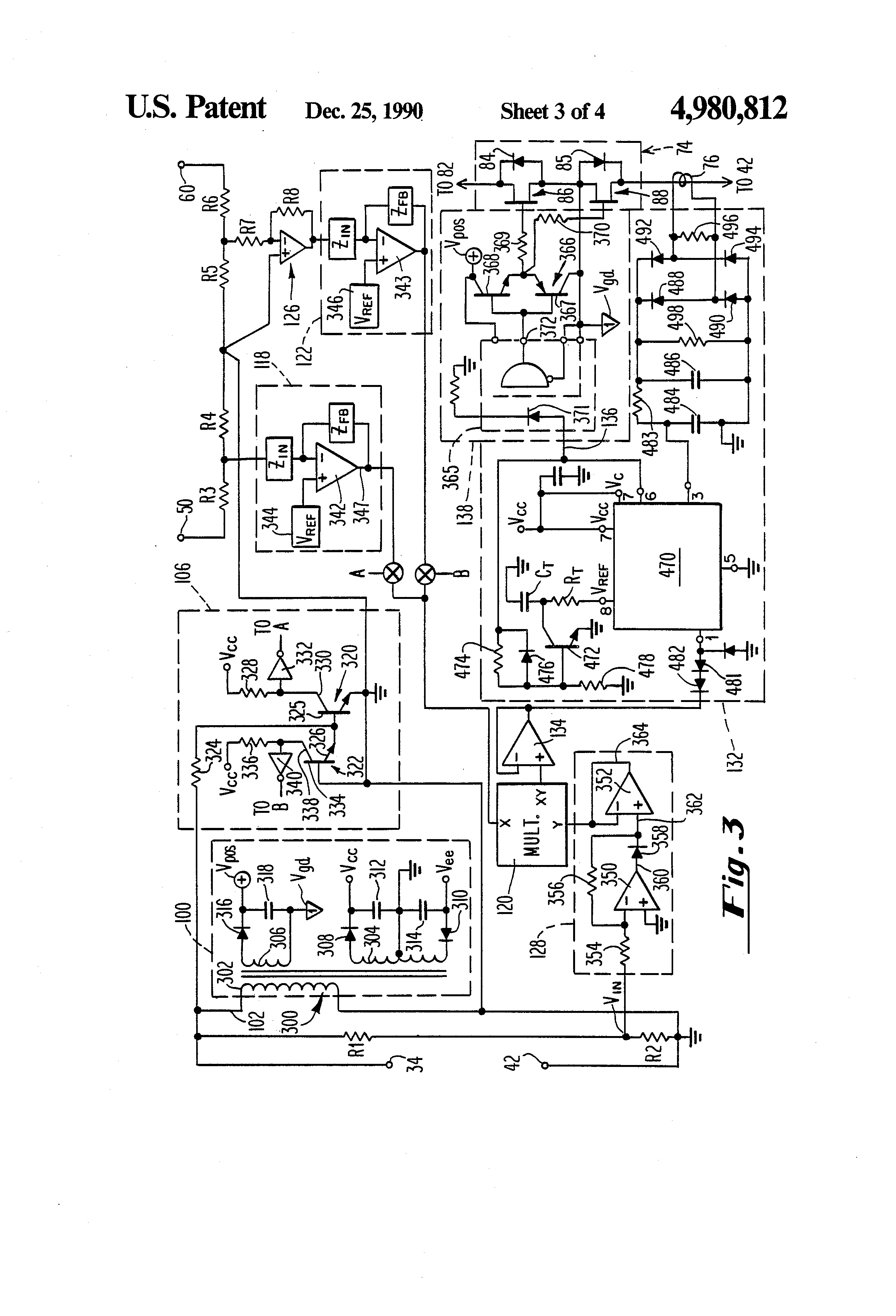 patent us4980812