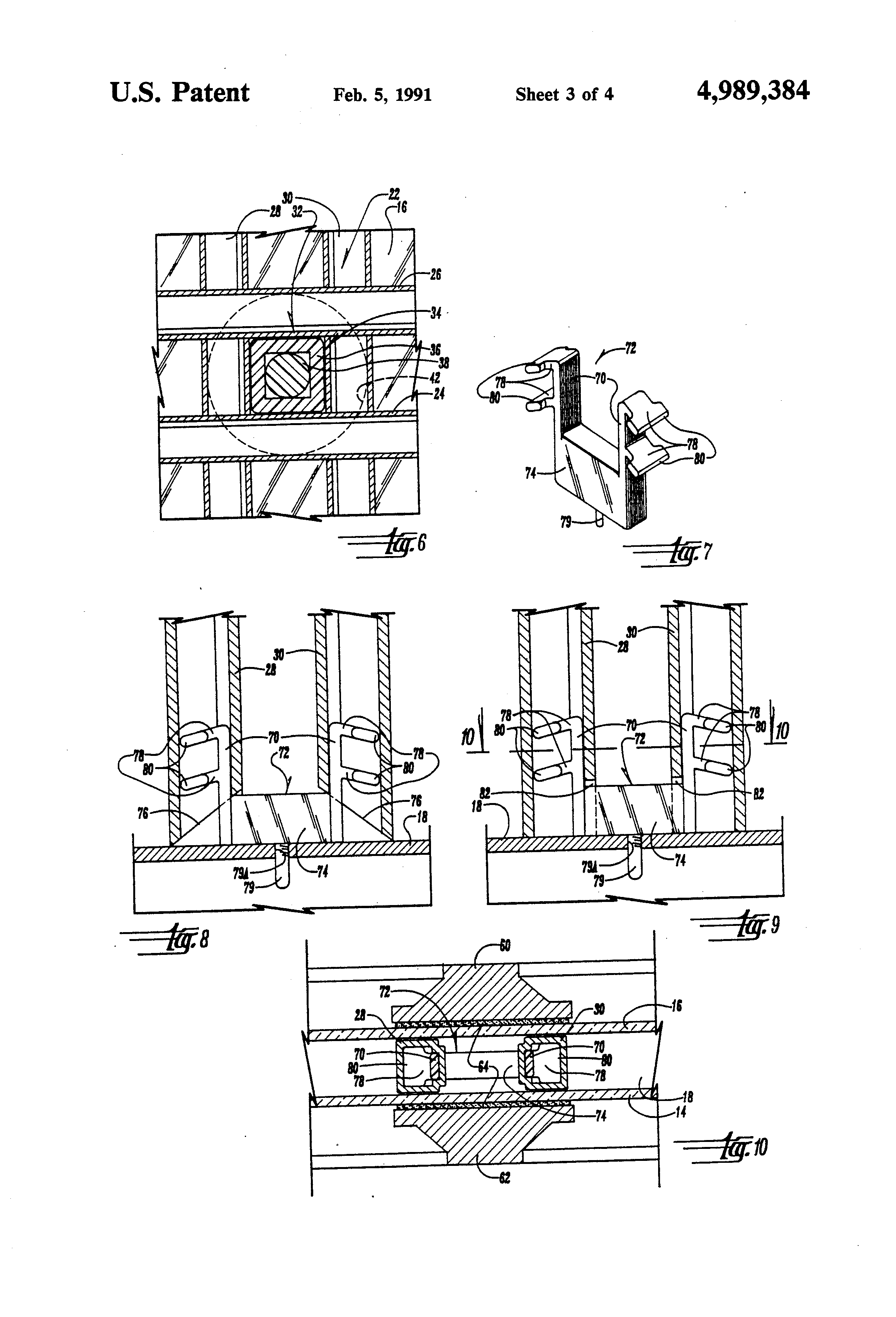 Insulated Glass Assembly : Patent us insulated window assembly with internal