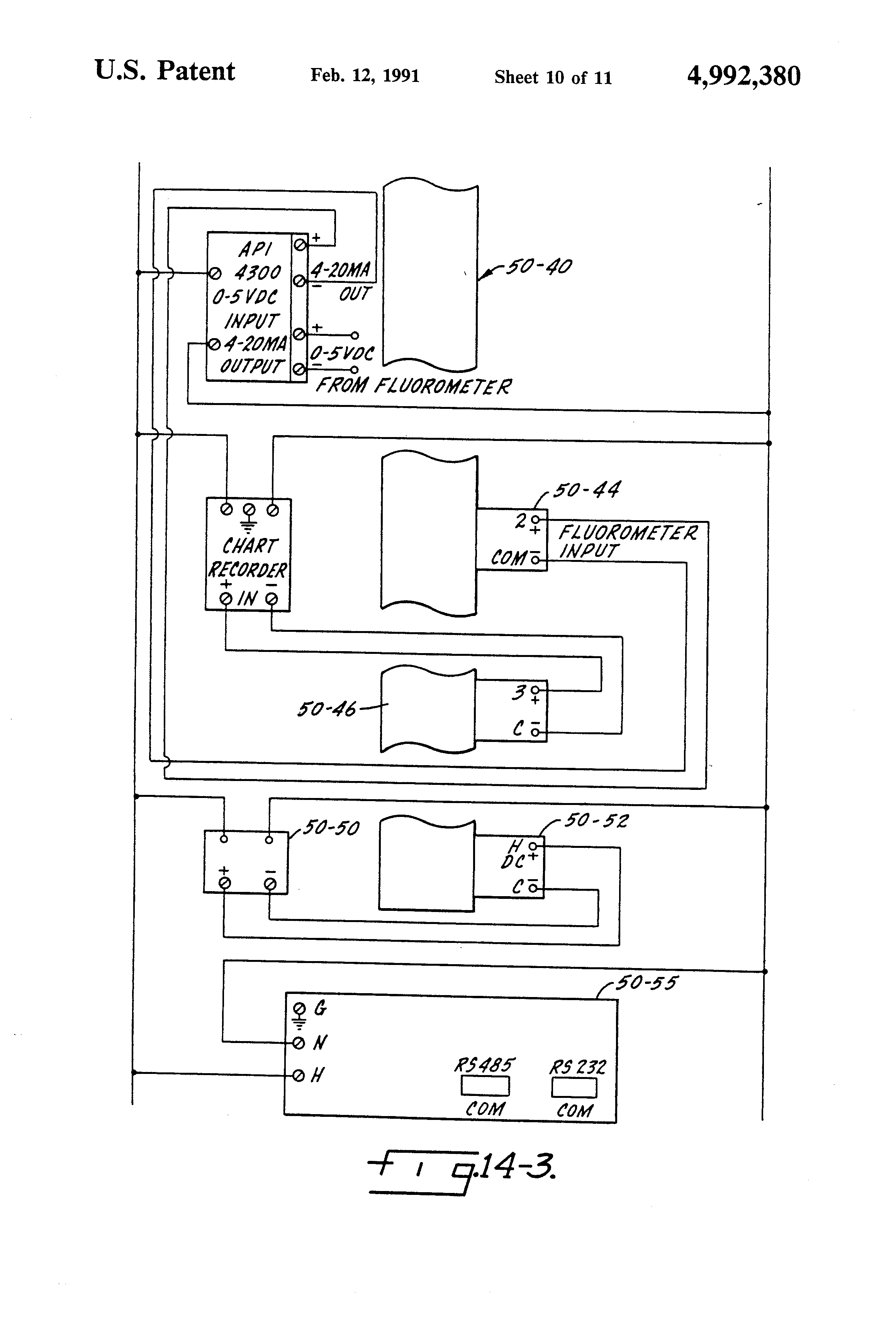 Patent US Continuous on stream monitoring of cooling